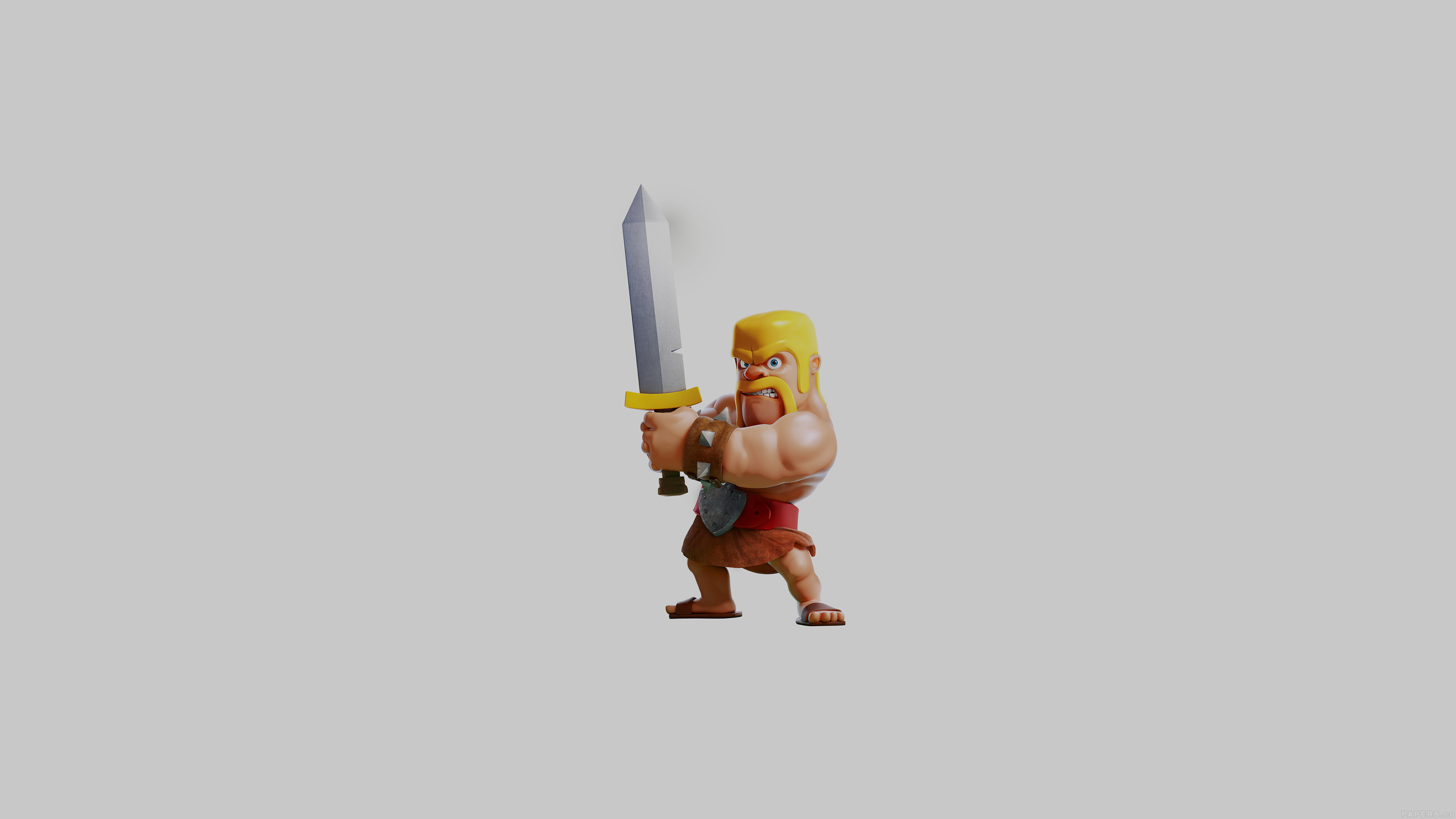 Barbarian Clash Of Clans Hd Hd Games 4k Wallpapers: 3840 X 2400