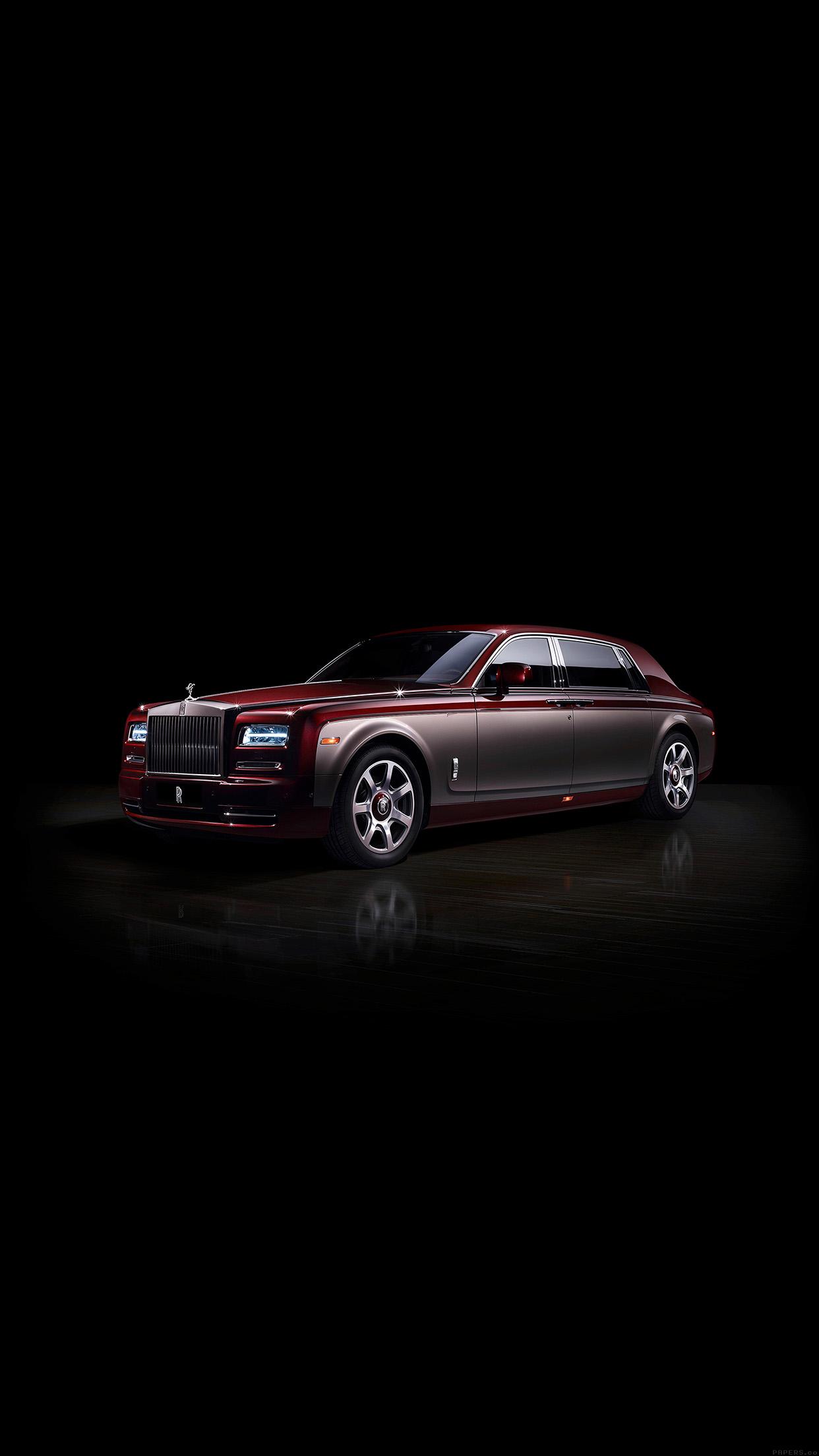 Iphone7papers Aj85 Rolls Royce Pinnacle Phantom Dark Car