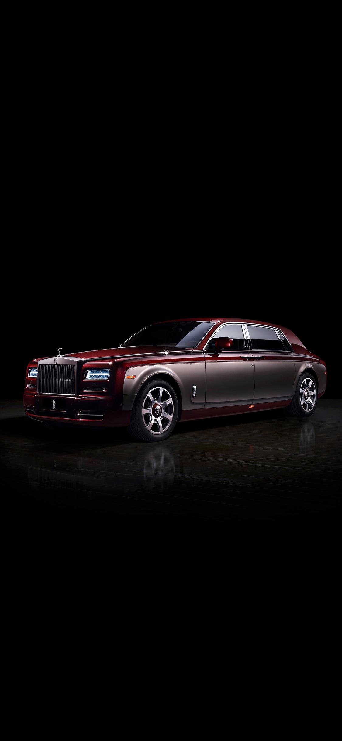 Aj85 Rolls Royce Pinnacle Phantom Dark Car Papers Co