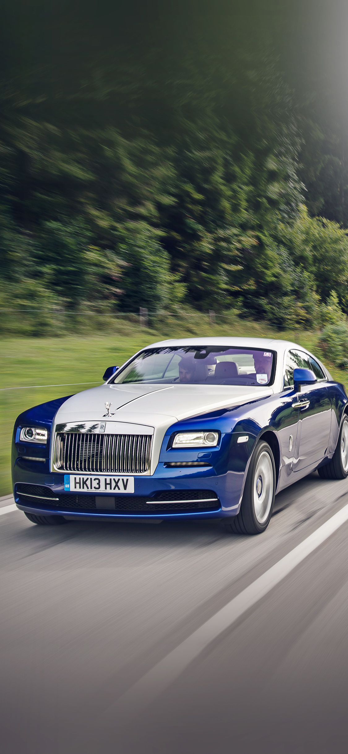 Aj95 Bentley Blue Drive Car Papers Co