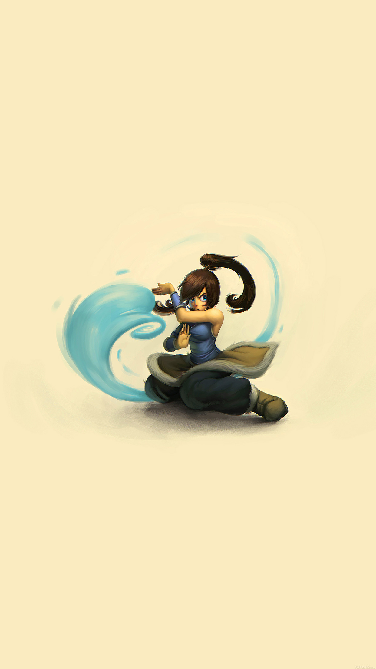 Aj99 Cute Young Avatar Korra Drawing Art Papers Co
