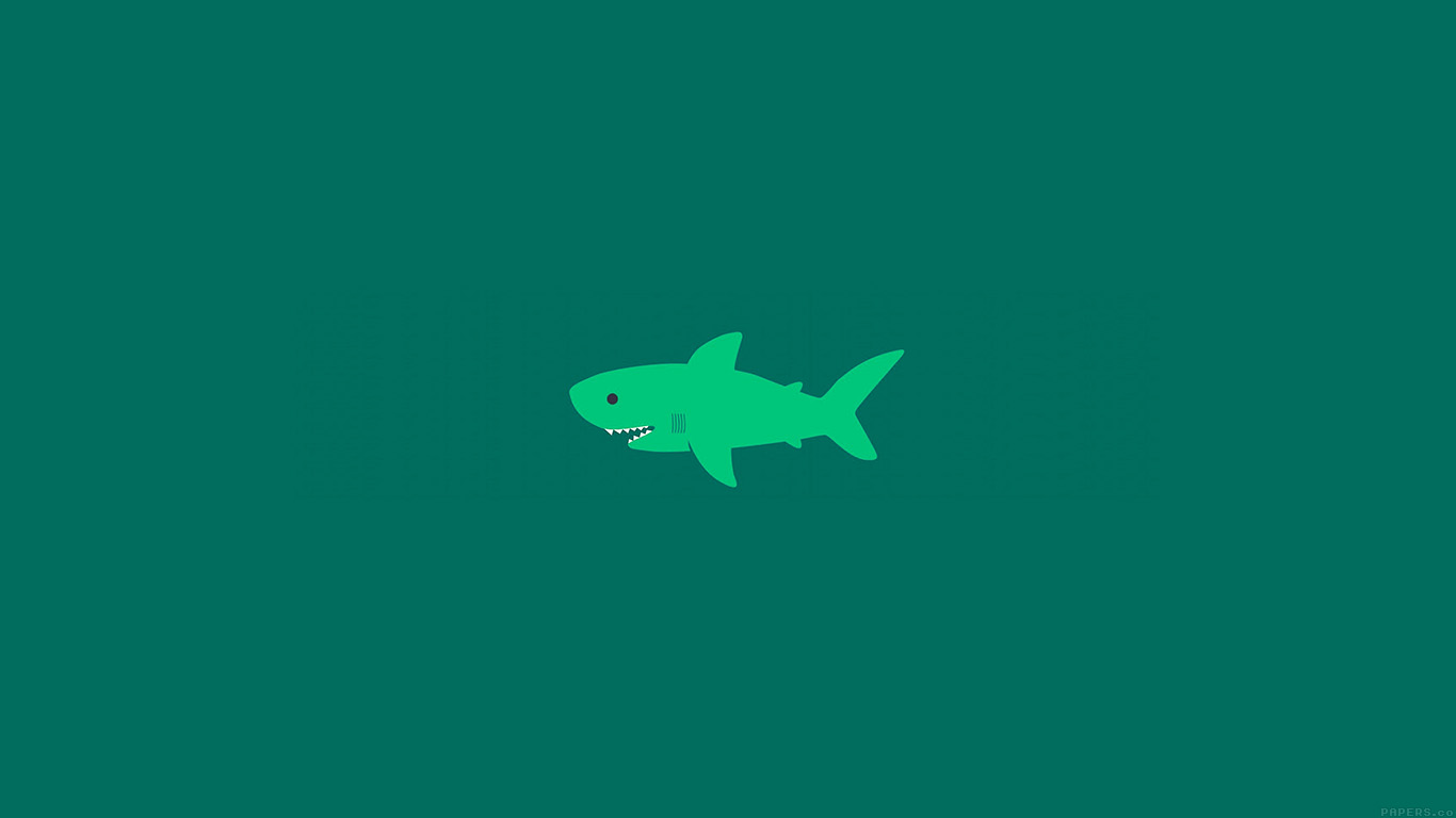 desktop-wallpaper-laptop-mac-macbook-air-ak02-little-small-cute-shark-green-minimal-wallpaper
