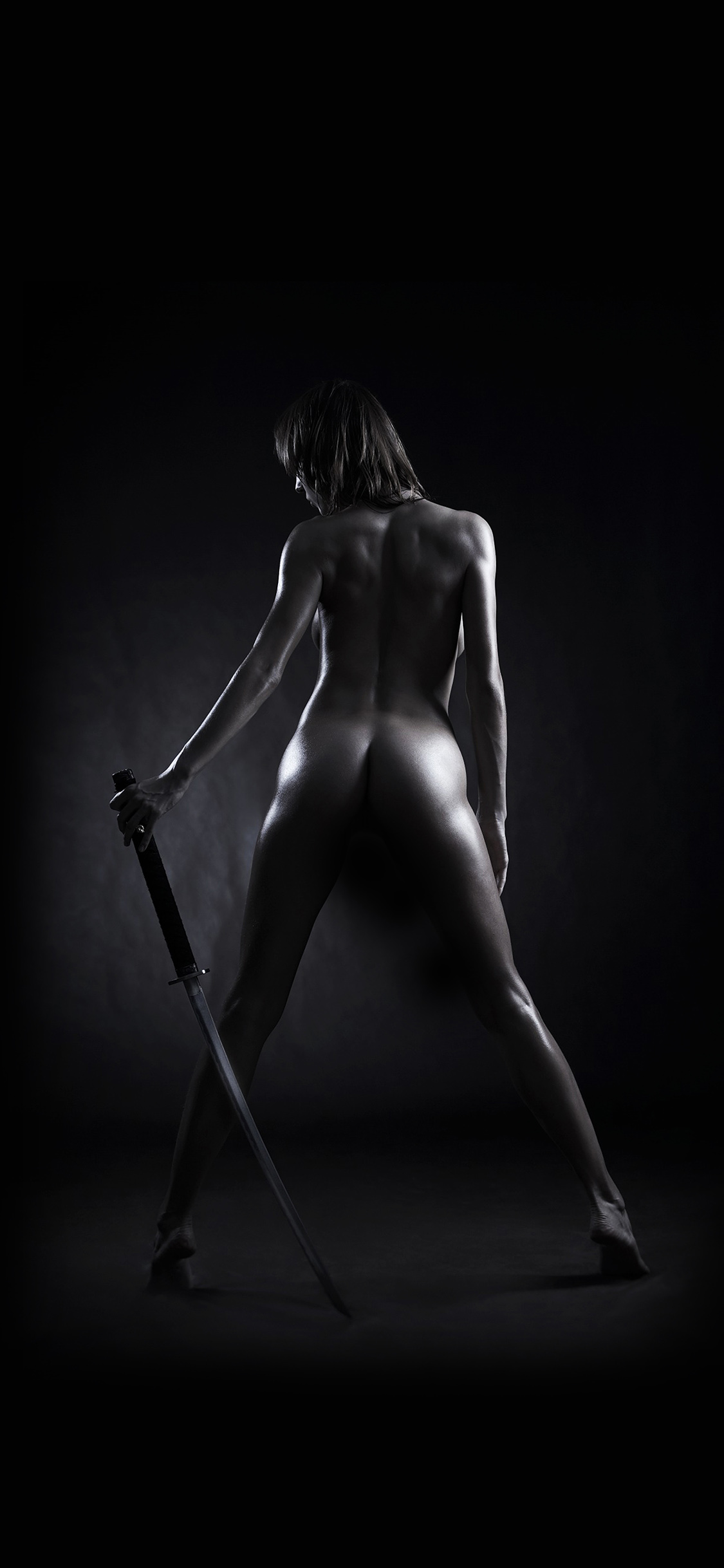 ak04-girl-nude-sword-art-dark-black-wallpaper