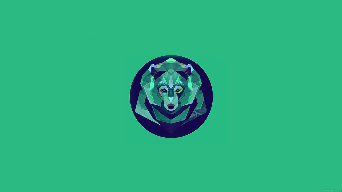 wallpaper-desktop-laptop-mac-macbook-ak06-bear-polygon-art-animal-green