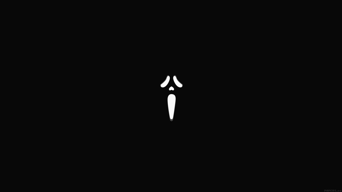 desktop-wallpaper-laptop-mac-macbook-airak13-scream-black-minimal-cute-art-wallpaper