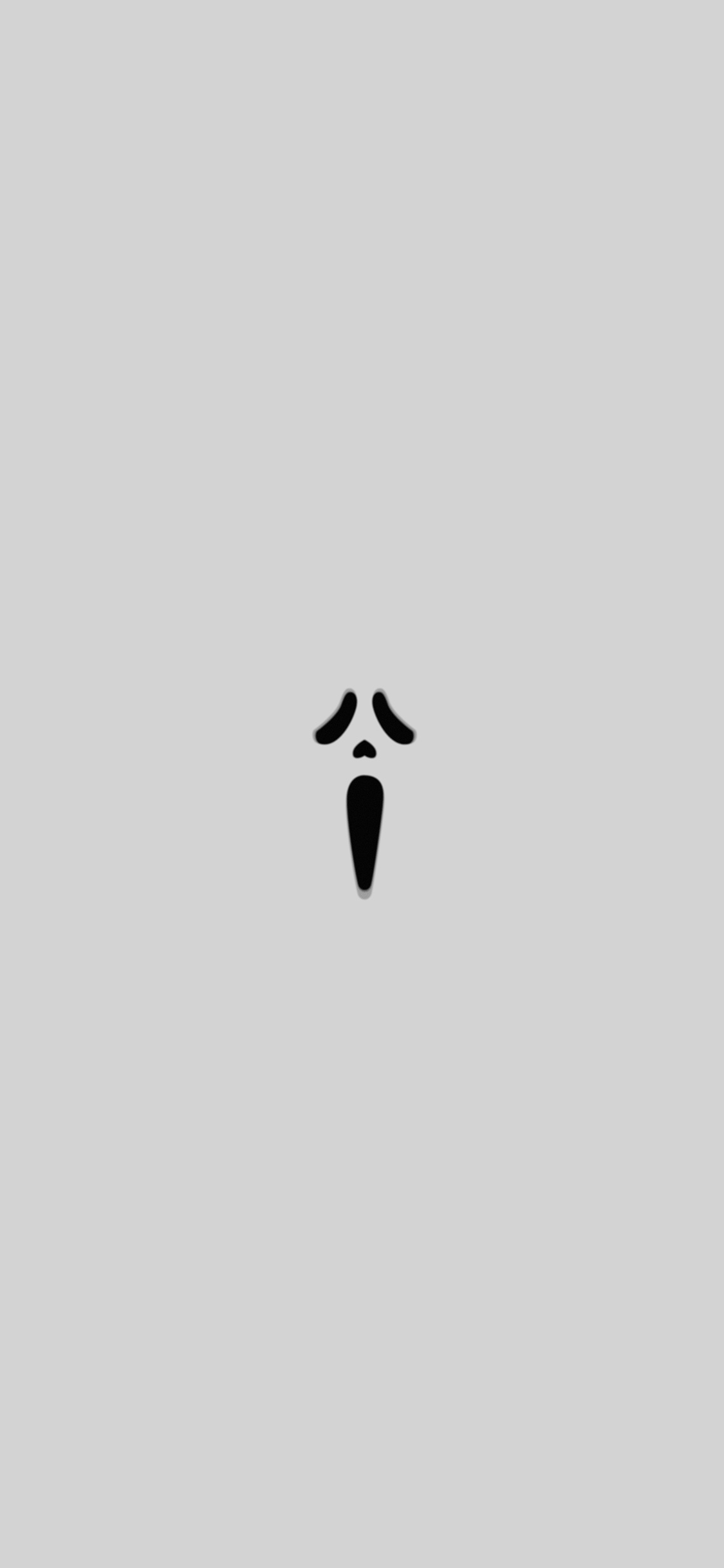 iPhoneXpapers.com-Apple-iPhone-wallpaper-ak14-scream-white-minimal-cute-art