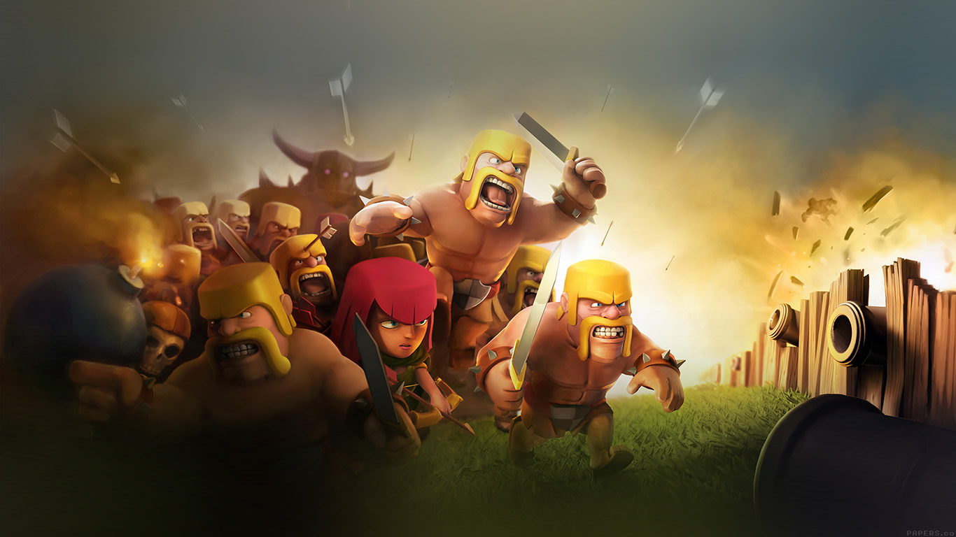desktop-wallpaper-laptop-mac-macbook-air-ak27-clash-of-clans-war-game-art-illust-cute-wallpaper