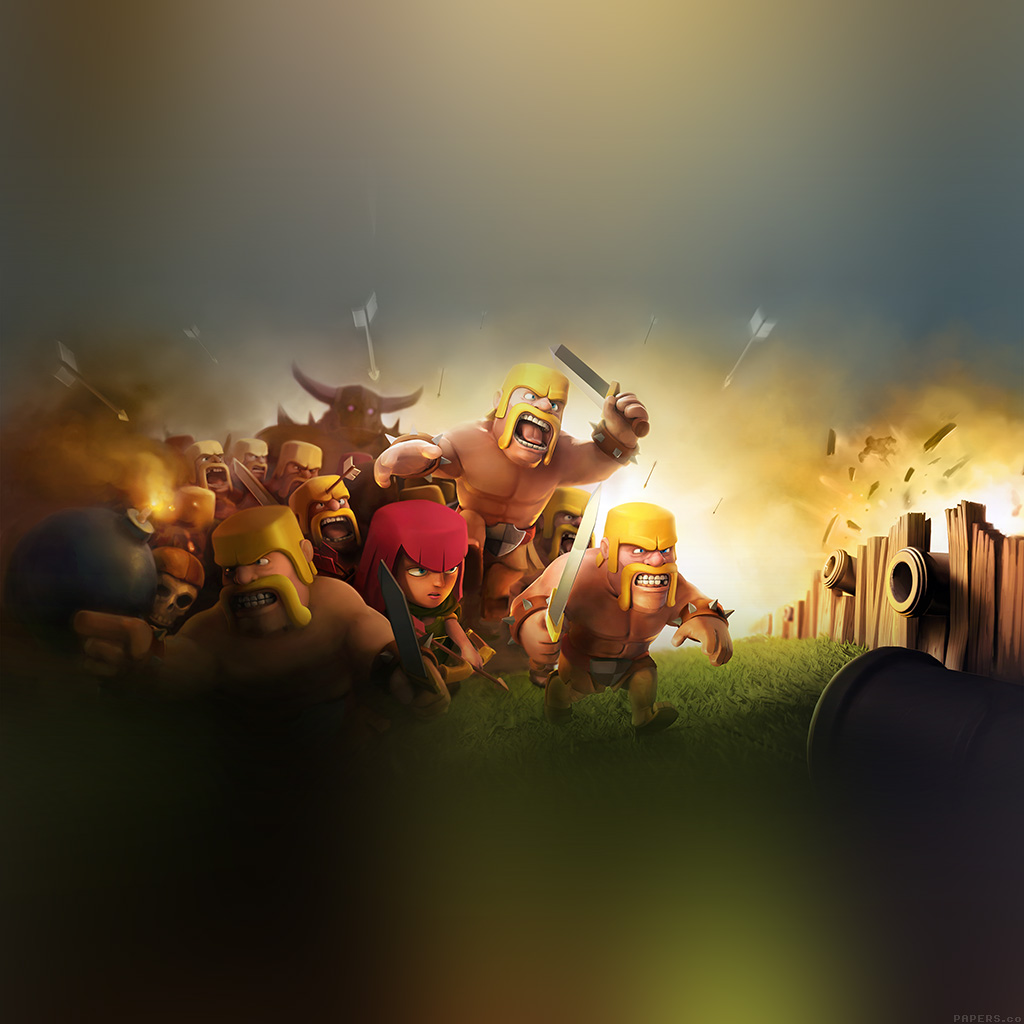 android-wallpaper-ak27-clash-of-clans-war-game-art-illust-cute-wallpaper
