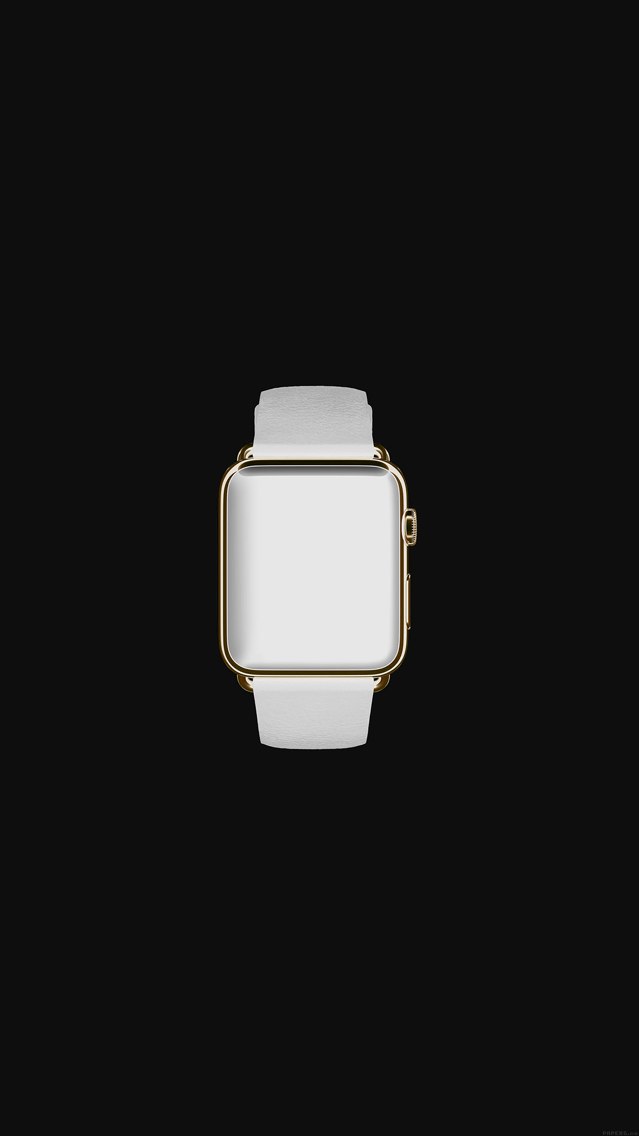 Ipapers Co Ak32 White Dark Apple Watch Simple Art