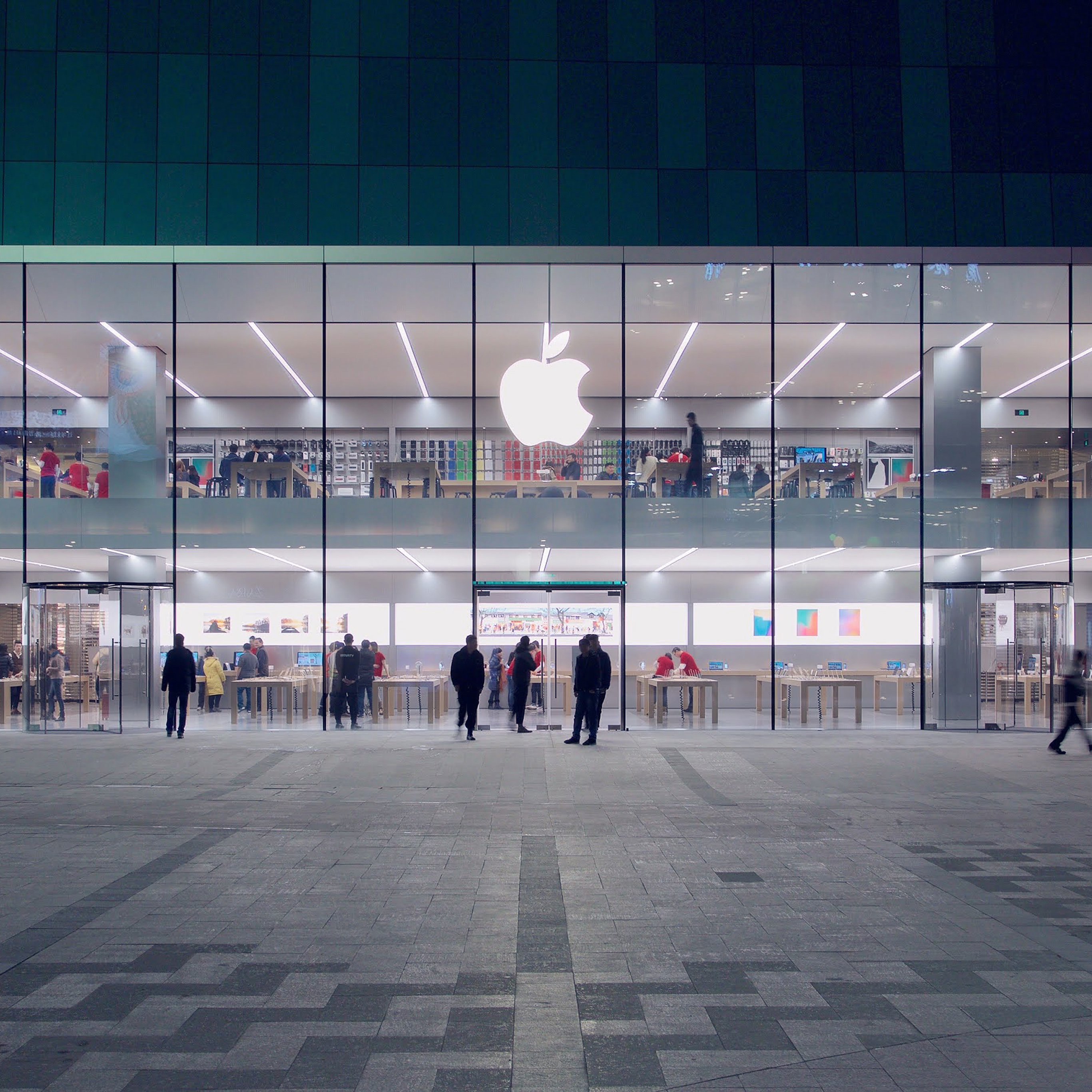 ak39-apple-store-front-architecture-city - Papers.co