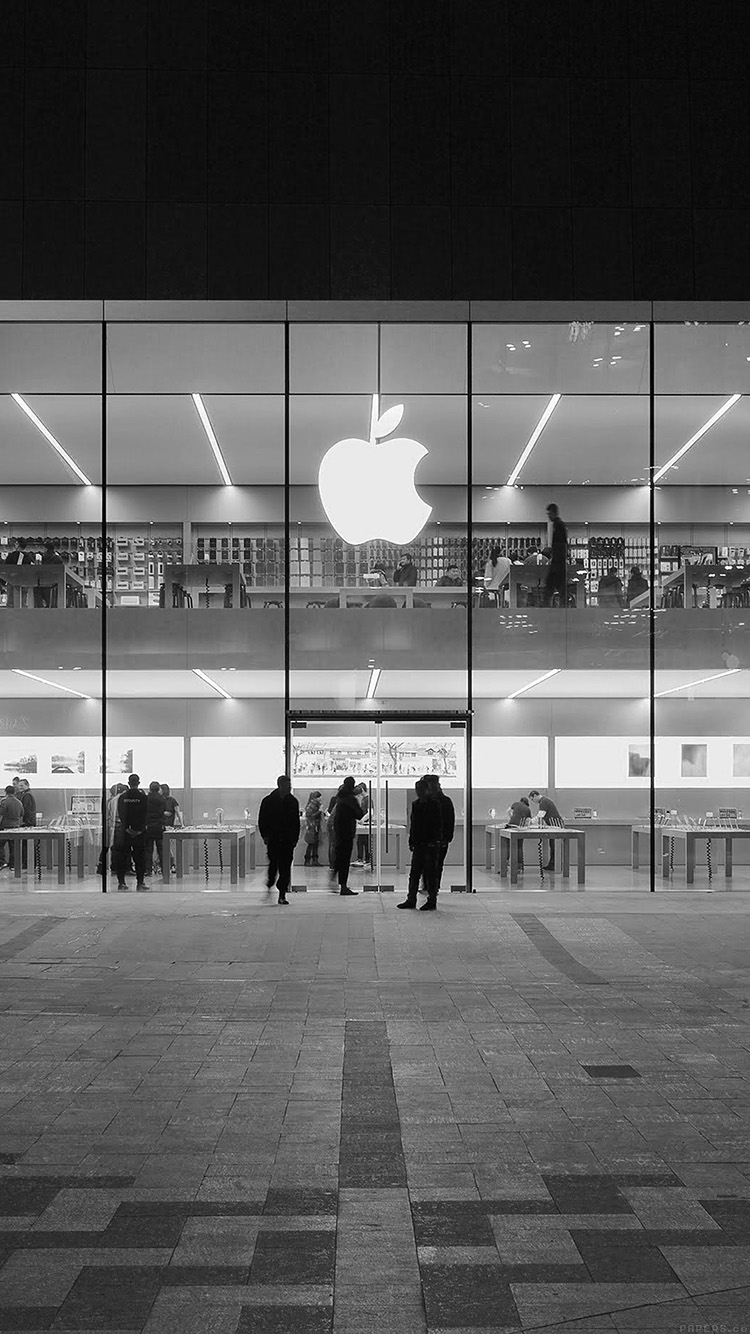 iPhone6papers.co-Apple-iPhone-6-iphone6-plus-wallpaper-ak40-apple-store-front-bw-dark-architecture-city