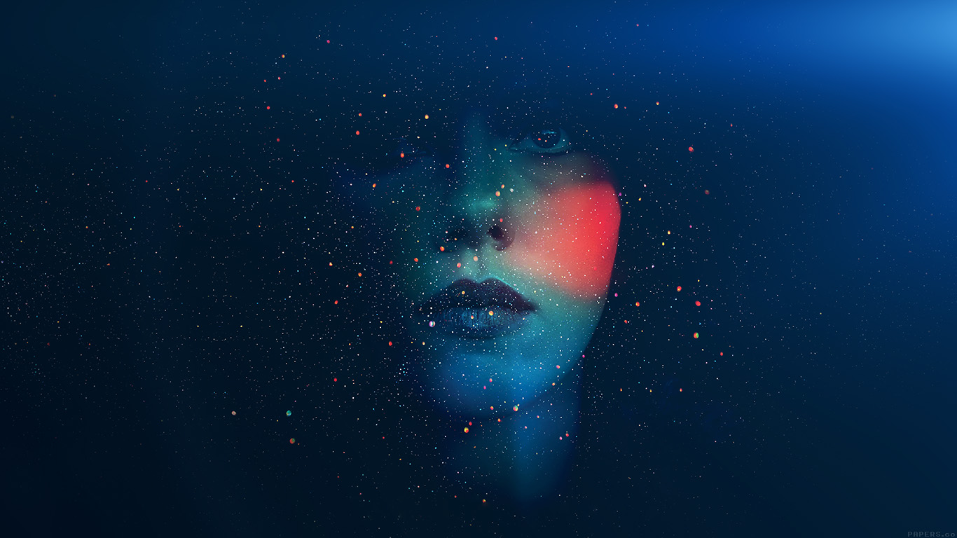 desktop-wallpaper-laptop-mac-macbook-air-ak63-space-girl-star-art-illust-face-blue-wallpaper