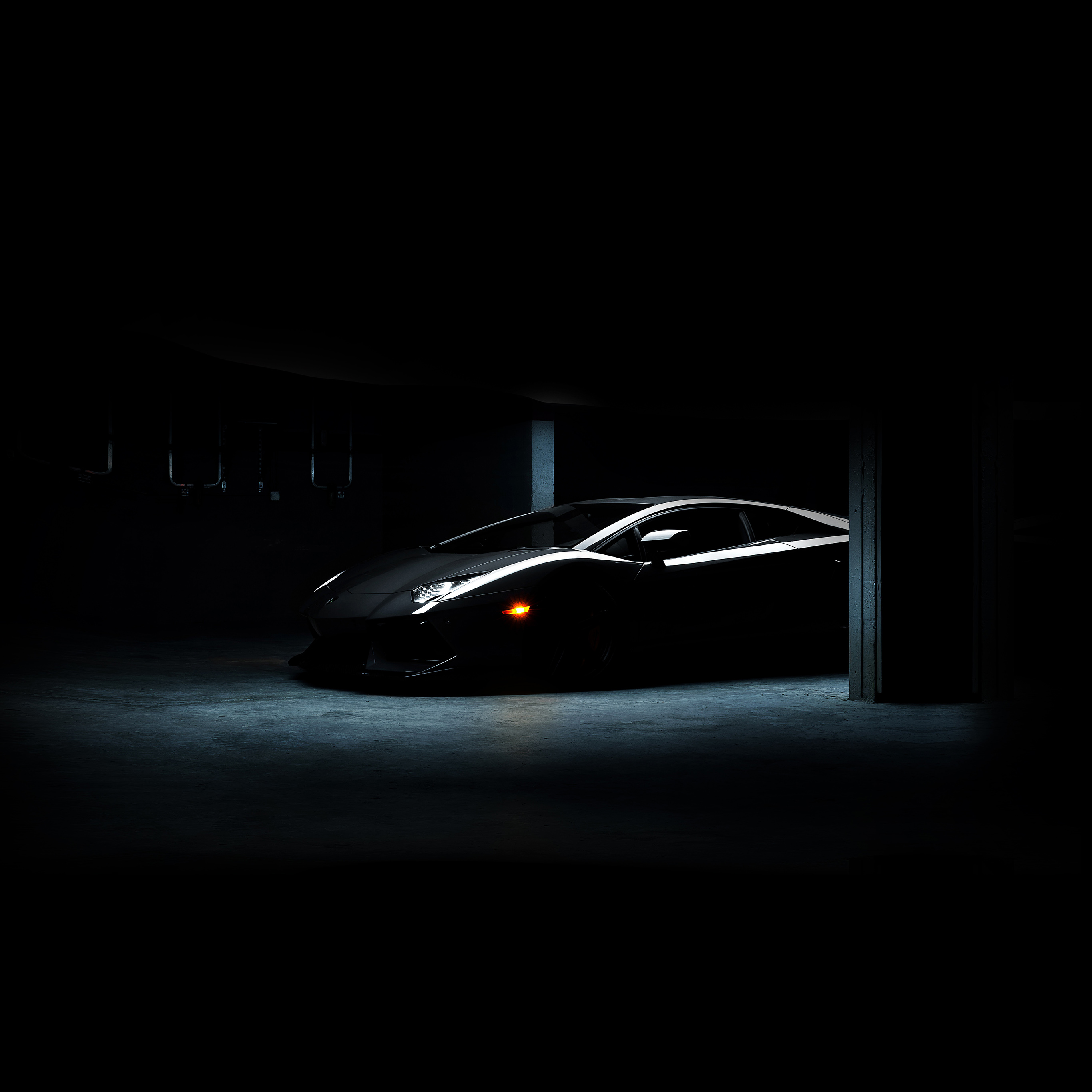 Awesome Mac Wallpapers Hd: Ak64-lamborghini-car-dark-black-awesome