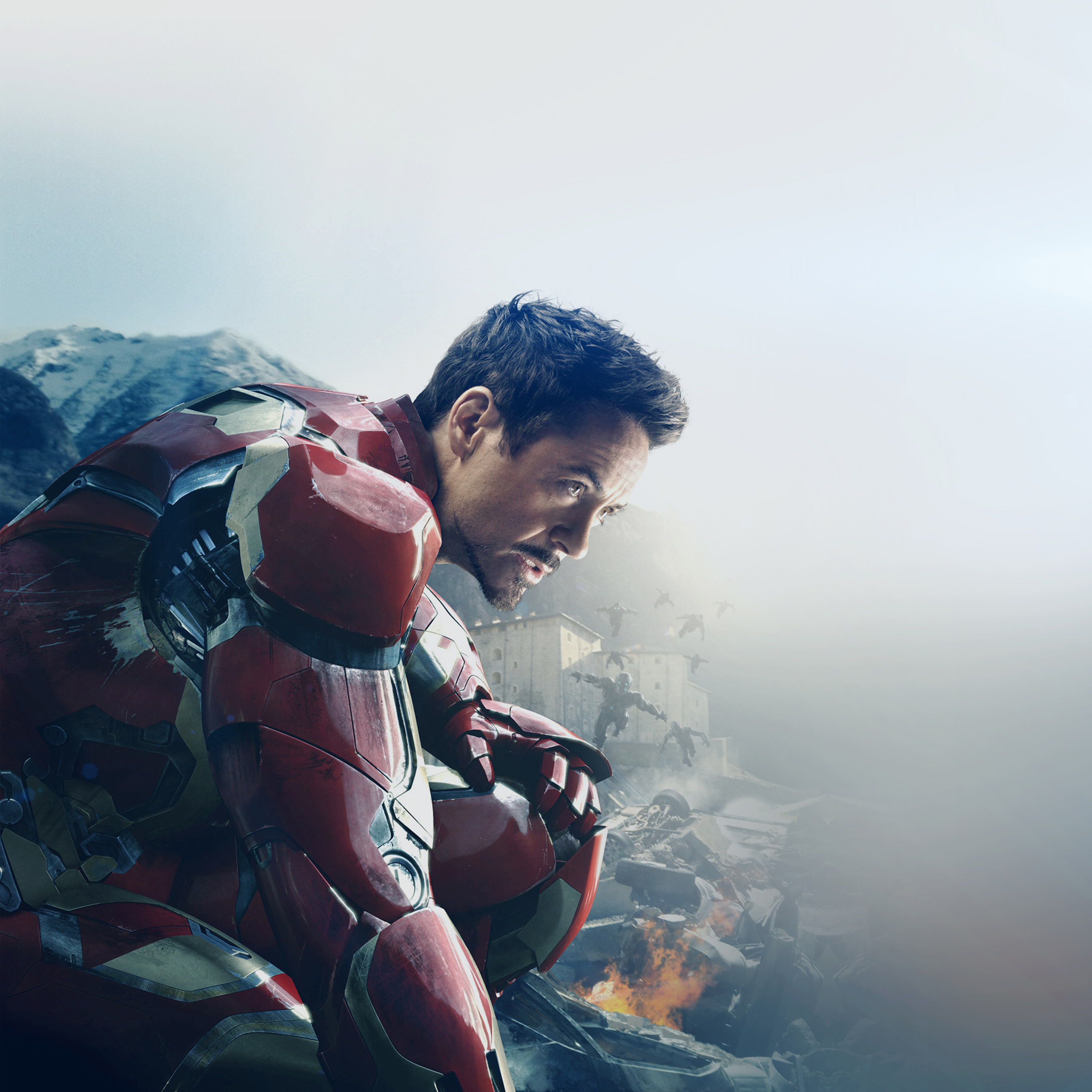 Ak74 Avengers Age Of Ultron Ironman Hero Art