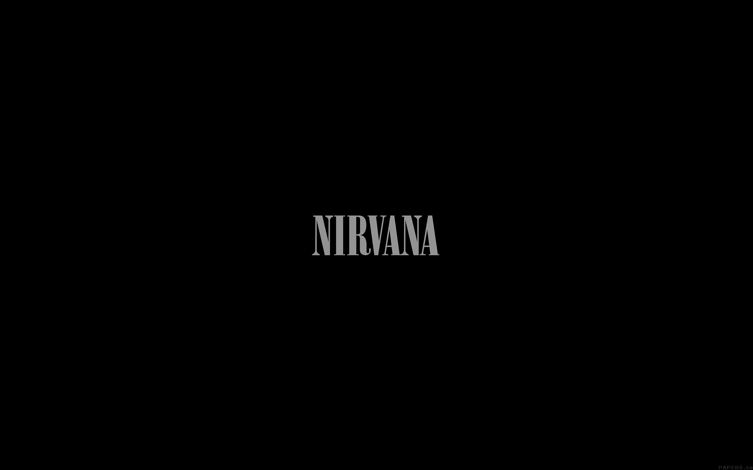 papers.co ak78 nirvana dark logo simple minimal music 23 wallpaper