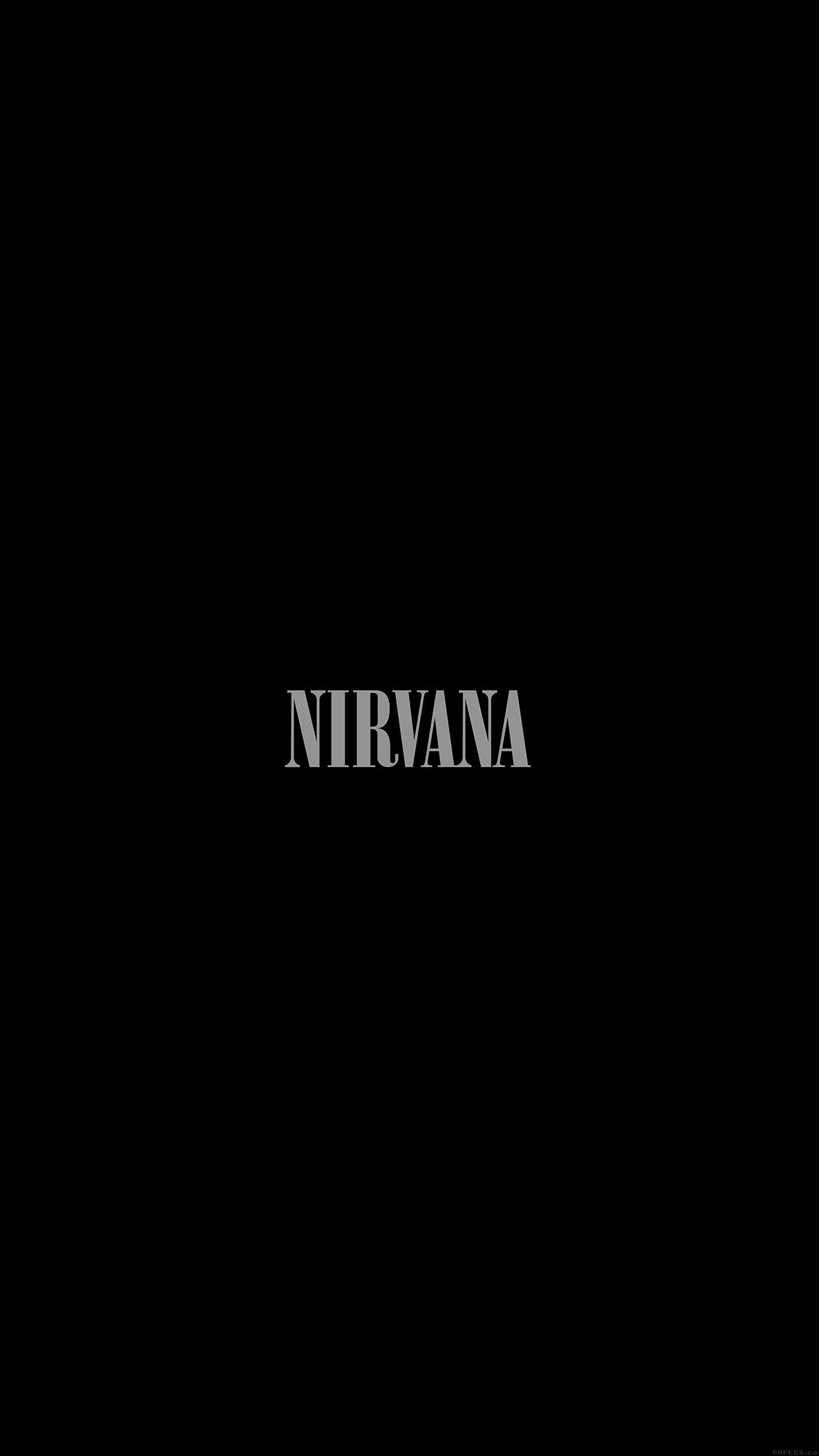nirvana wallpaper iphone 6 plus