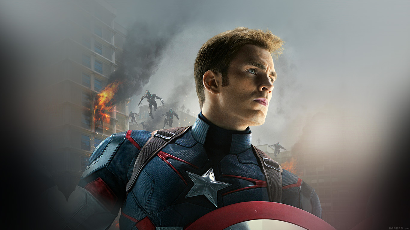 desktop-wallpaper-laptop-mac-macbook-air-ak81-avengers-age-of-ultron-captain-america-chris-evans-wallpaper