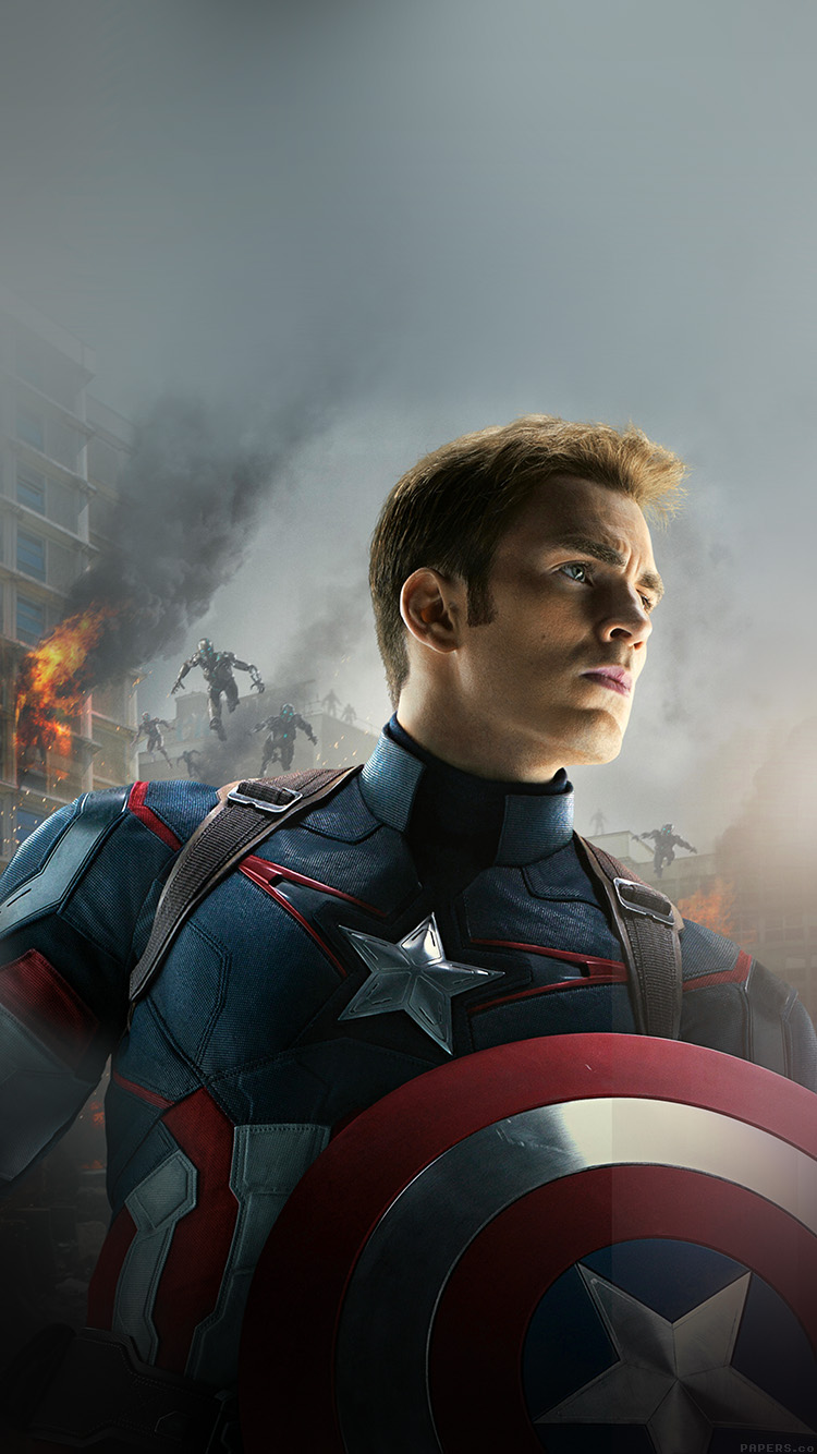 Papers.co-iPhone5-iphone6-plus-wallpaper-ak81-avengers-age-of-ultron-captain-america-chris-evans