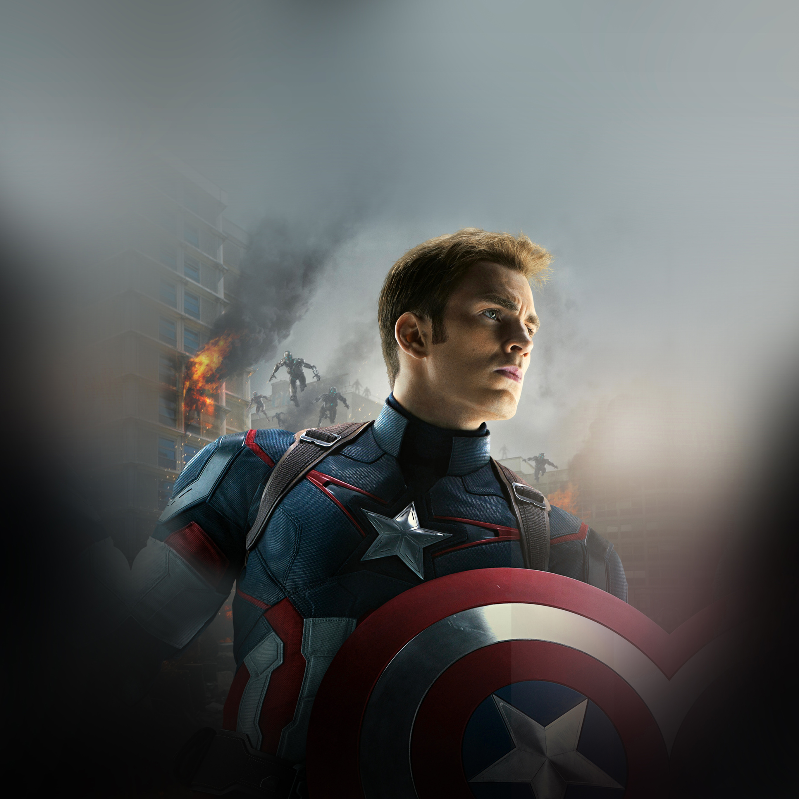 Ak81 Avengers Age Of Ultron Captain America Chris Evans Wallpaper