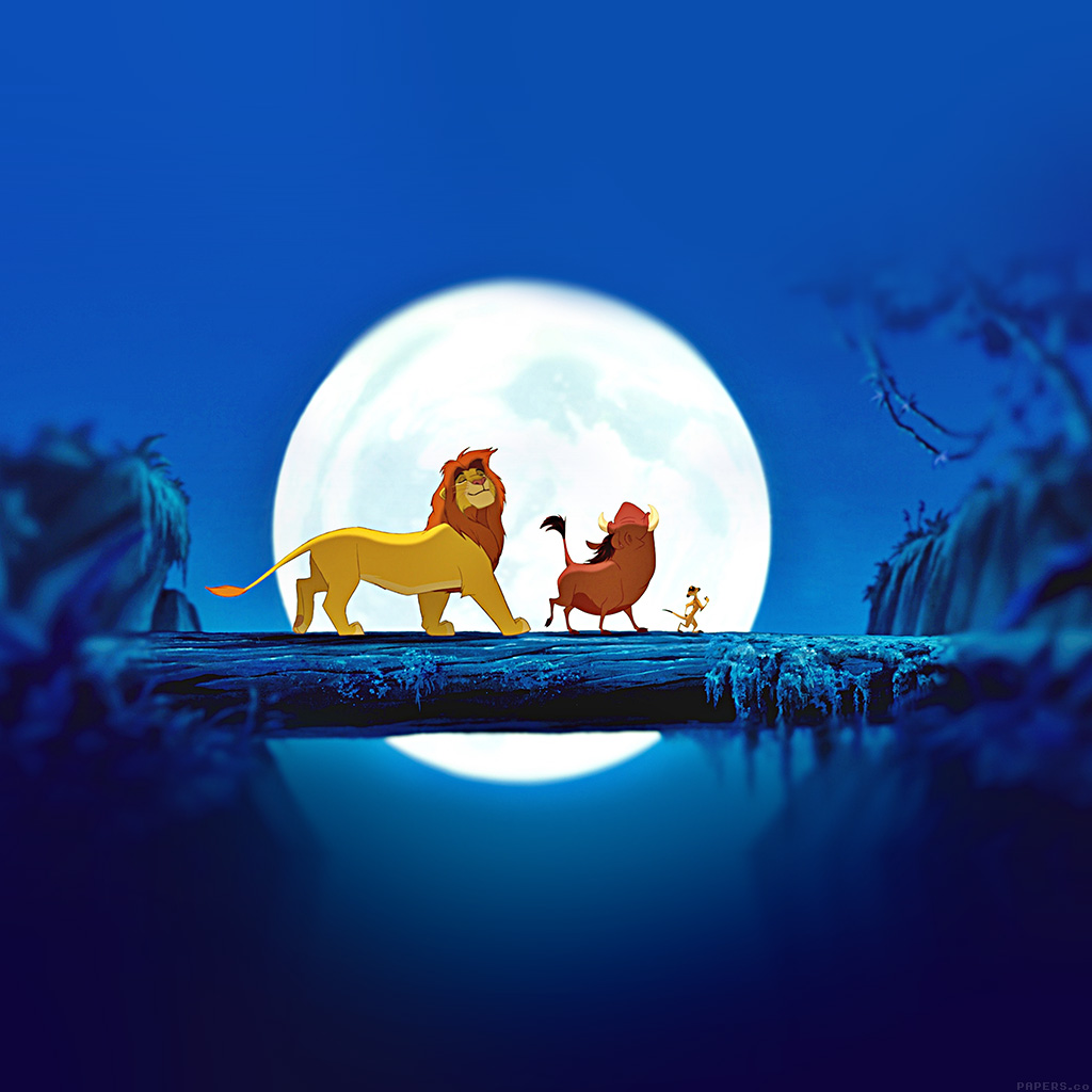 android-wallpaper-ak89-lionking-hakuna-matata-simba-disney-art-wallpaper
