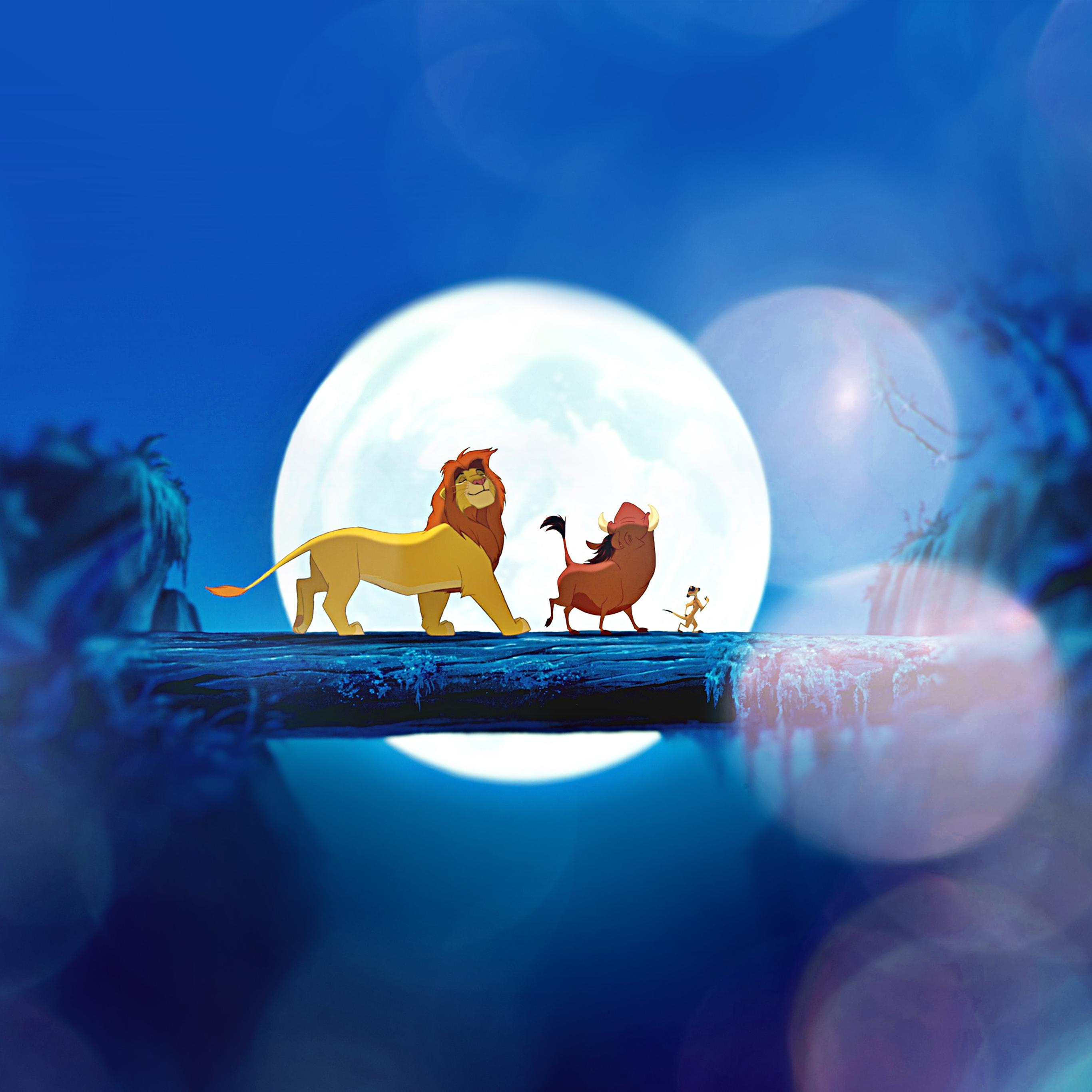 Ak90 Lionking Flare Hakuna Matata Simba Disney Art Wallpaper