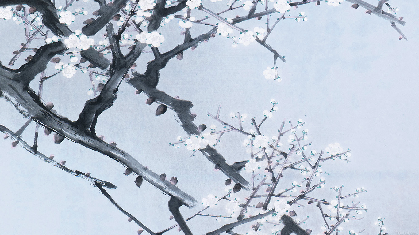 wallpaper-desktop-laptop-mac-macbook-ak94-oriental-art-flower-blue-painting-illust