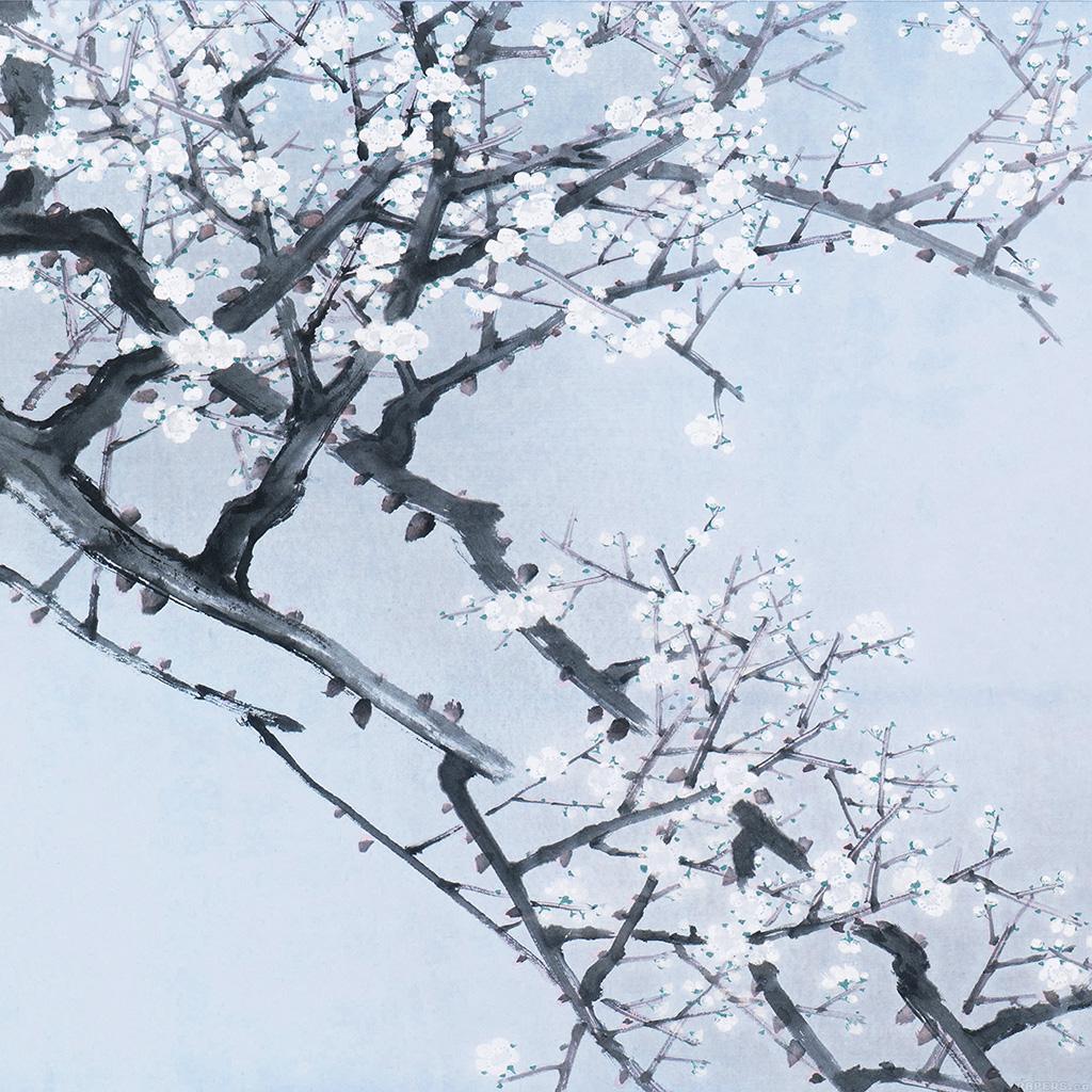 android-wallpaper-ak94-oriental-art-flower-blue-painting-illust-wallpaper