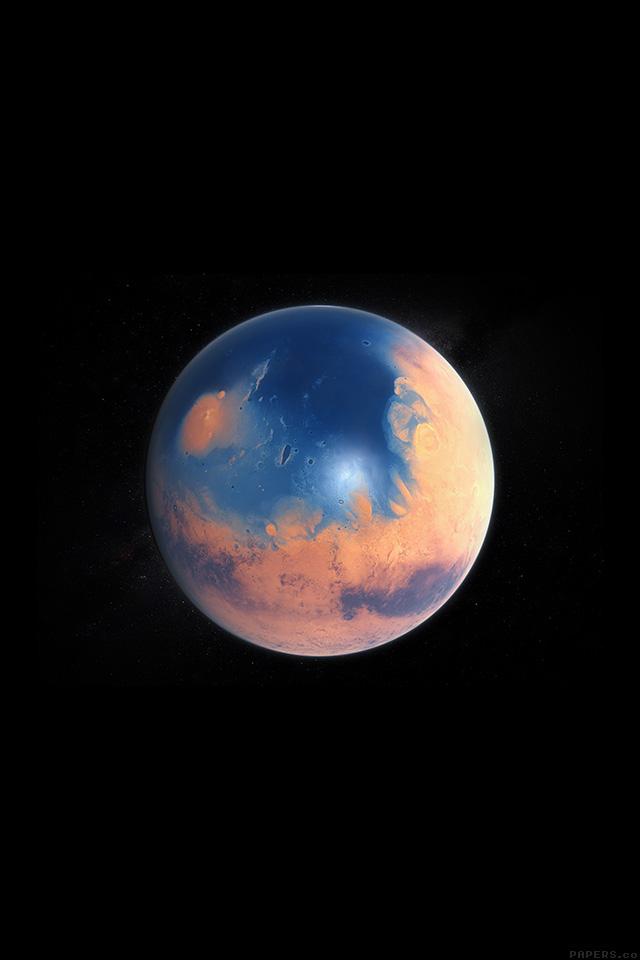 Freeios7 Ak96 Space Earth Planet Art Illust Dark Parallax Hd