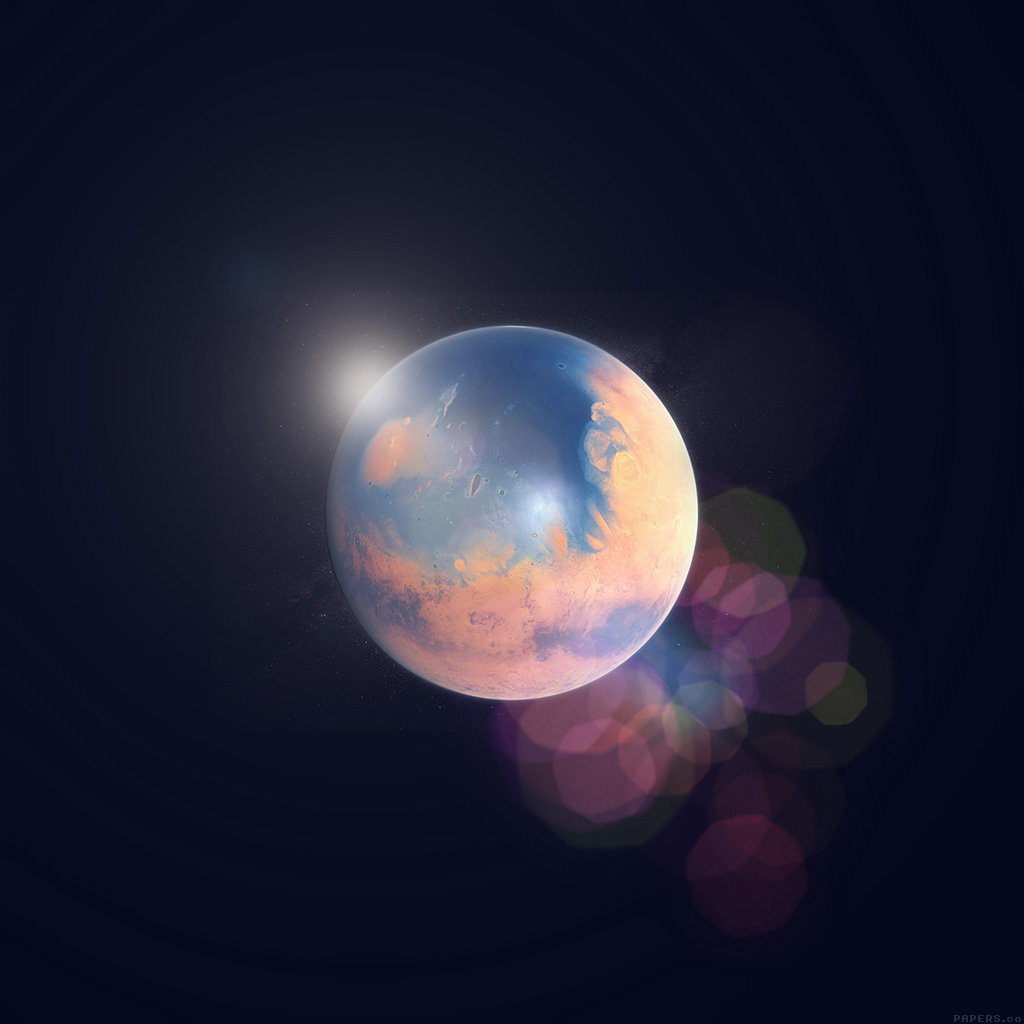 android-wallpaper-ak98-space-earth-planet-art-illust-flare-wallpaper