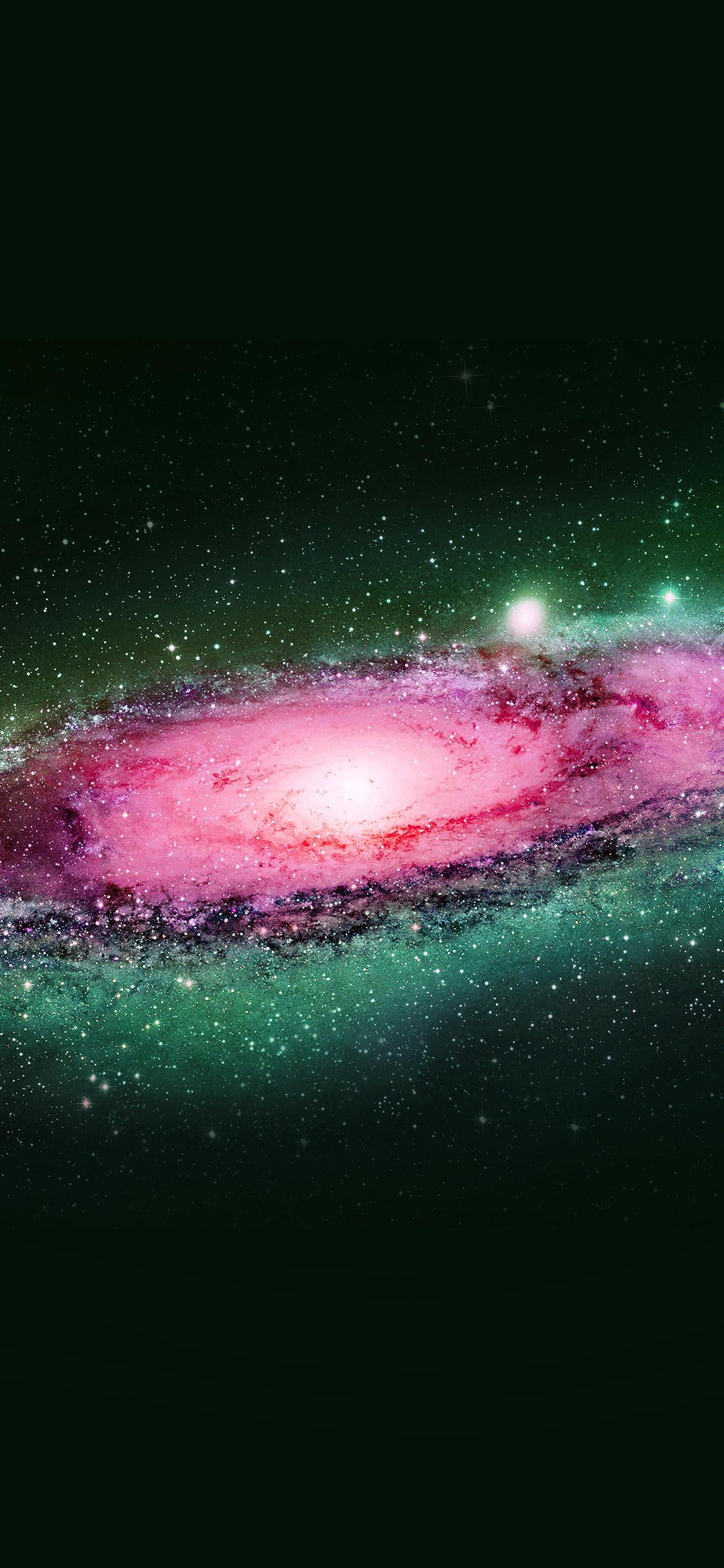 iPhonexpapers.com-Apple-iPhone-wallpaper-al00-galaxy-space-art-illust-planets-dark-green