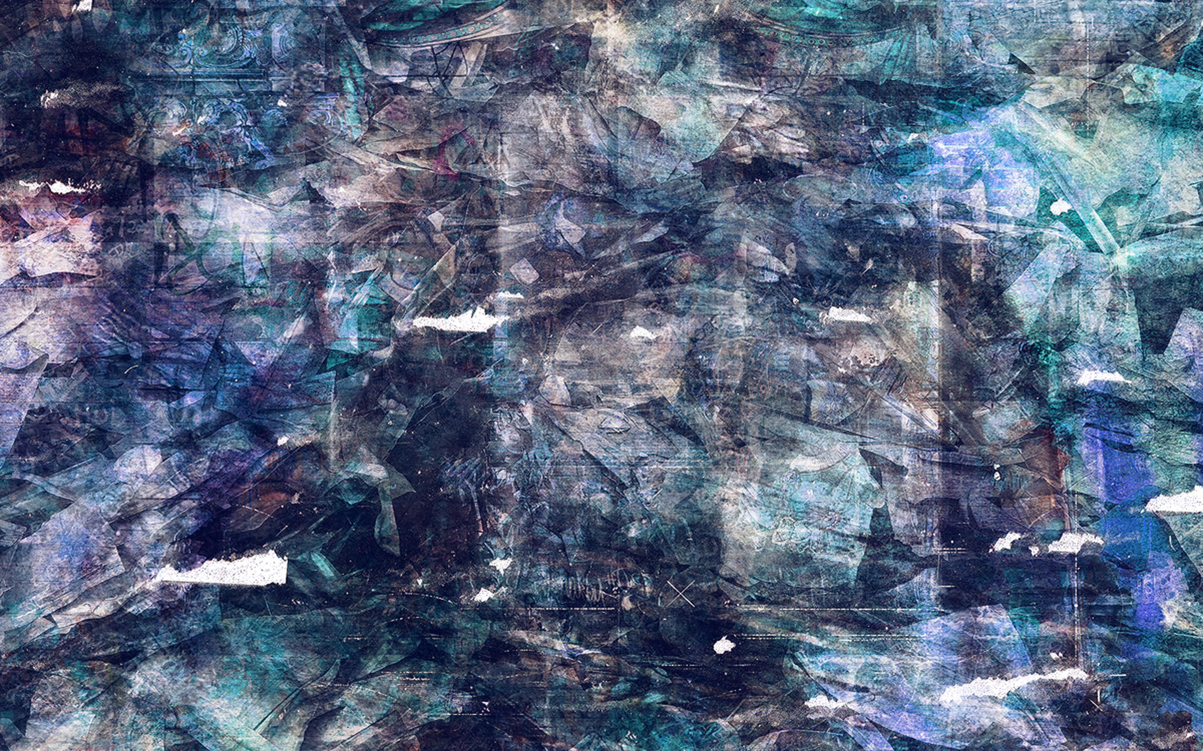 al29-wonder-lust-art-illust-grunge-abstract-blue-wallpaper