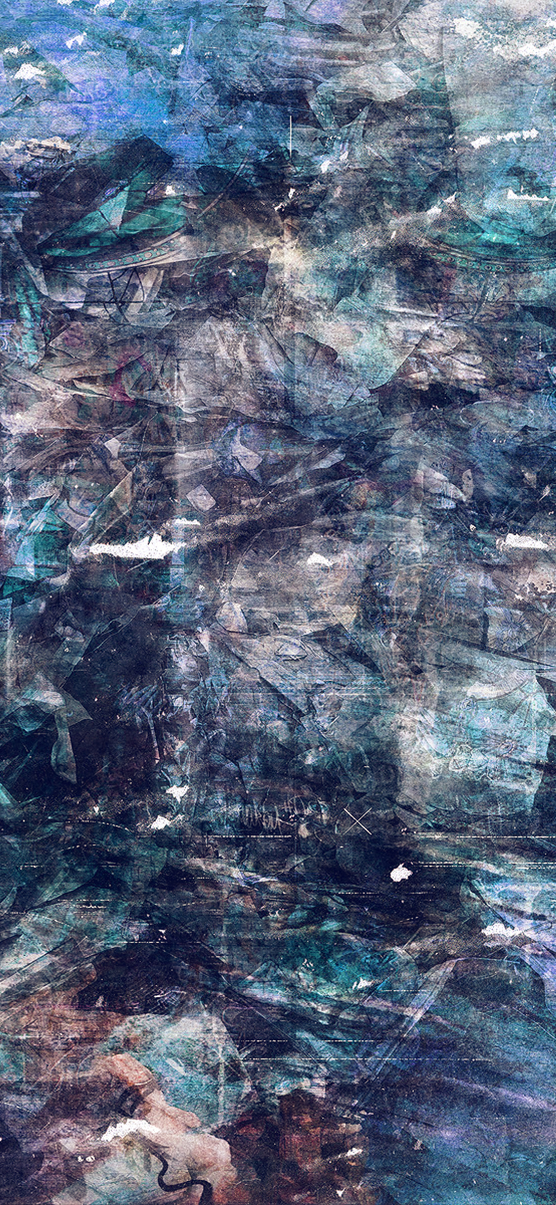 iPhonexpapers.com-Apple-iPhone-wallpaper-al29-wonder-lust-art-illust-grunge-abstract-blue