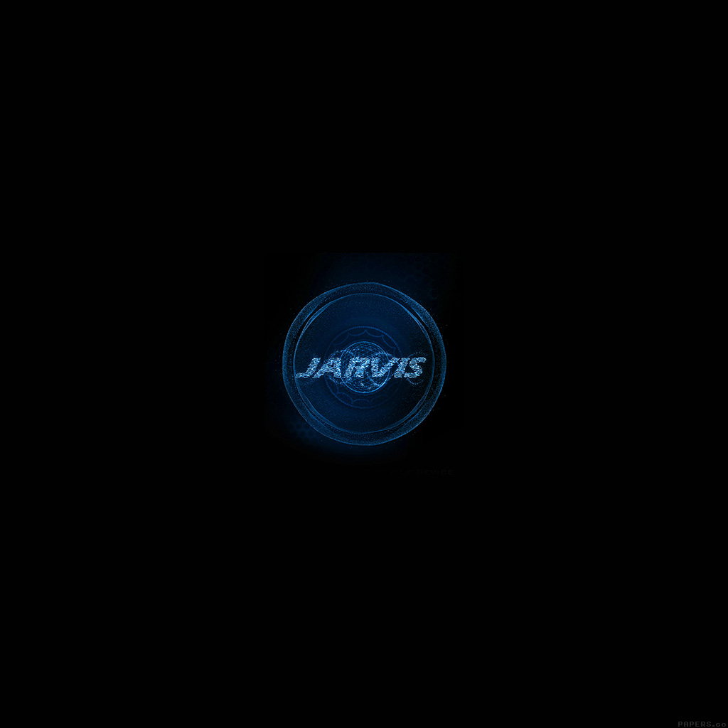 PAPERS.co | Android wallpaper | al49-jarvis-ironman-art-minimal-blue