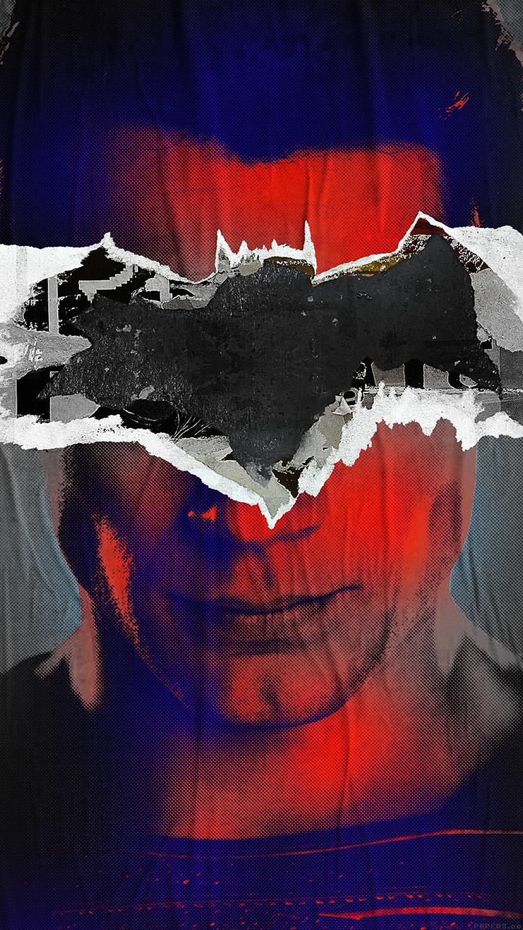Papers.co-iPhone5-iphone6-plus-wallpaper-al52-batman-superman-poster-illust-art-film-dark