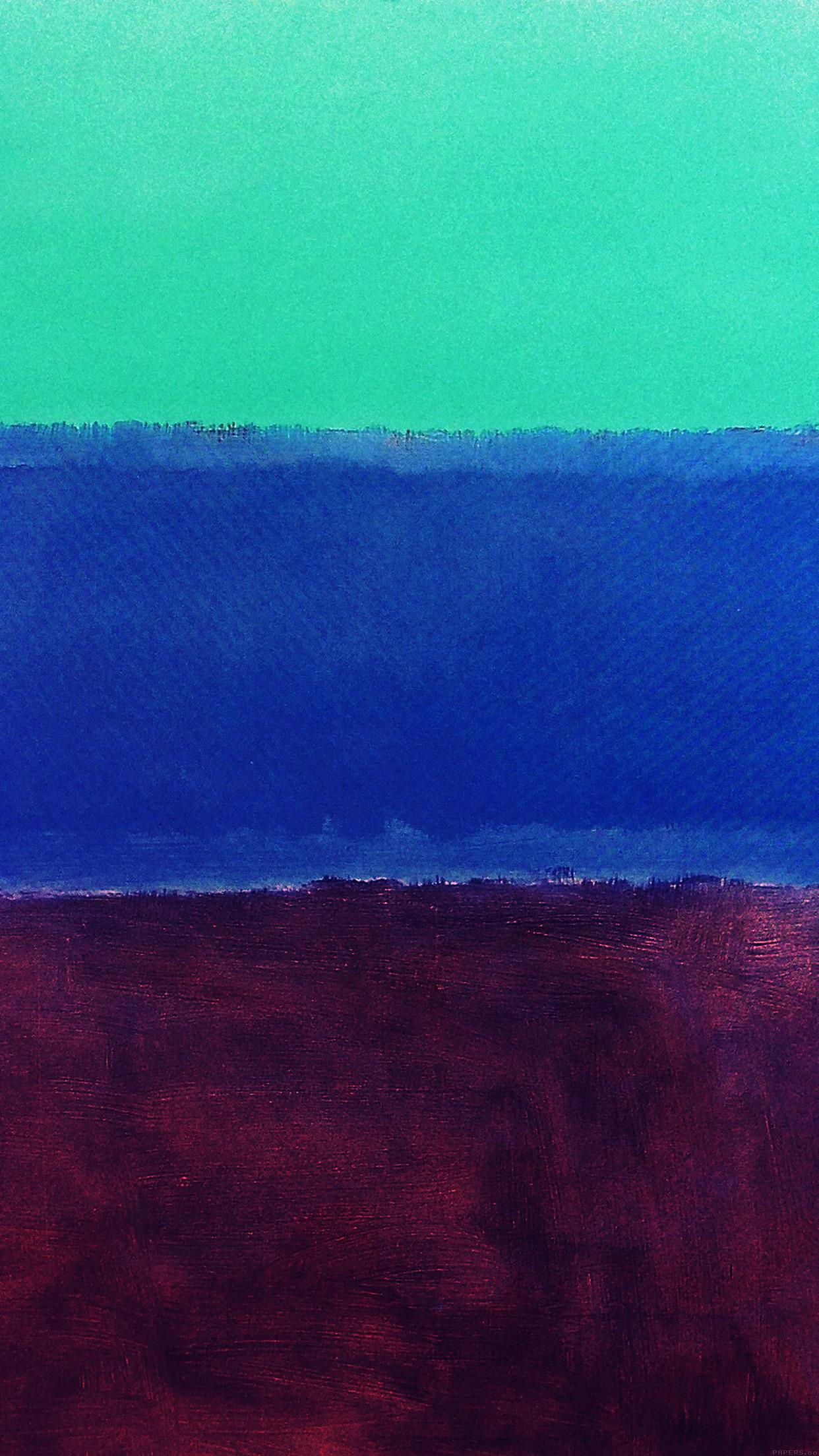 al61-mark-rothko-style-paint-art-greeb-blue-classic-wallpaper