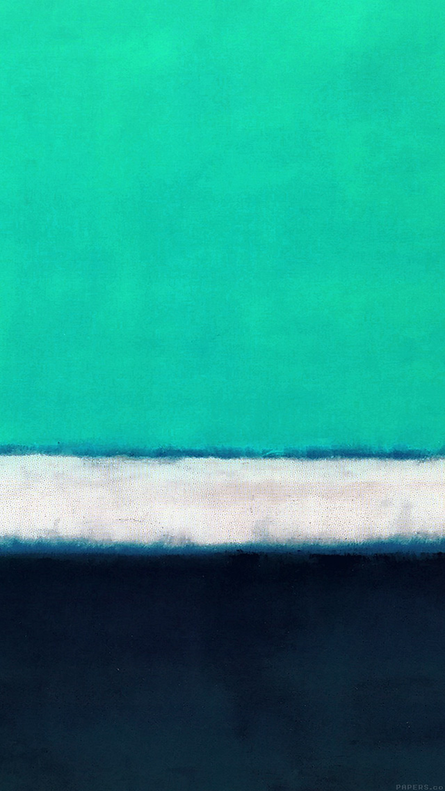 freeios8.com-iphone-4-5-6-plus-ipad-ios8-al69-blue-green-rothko-mark-paint-style-art-classic