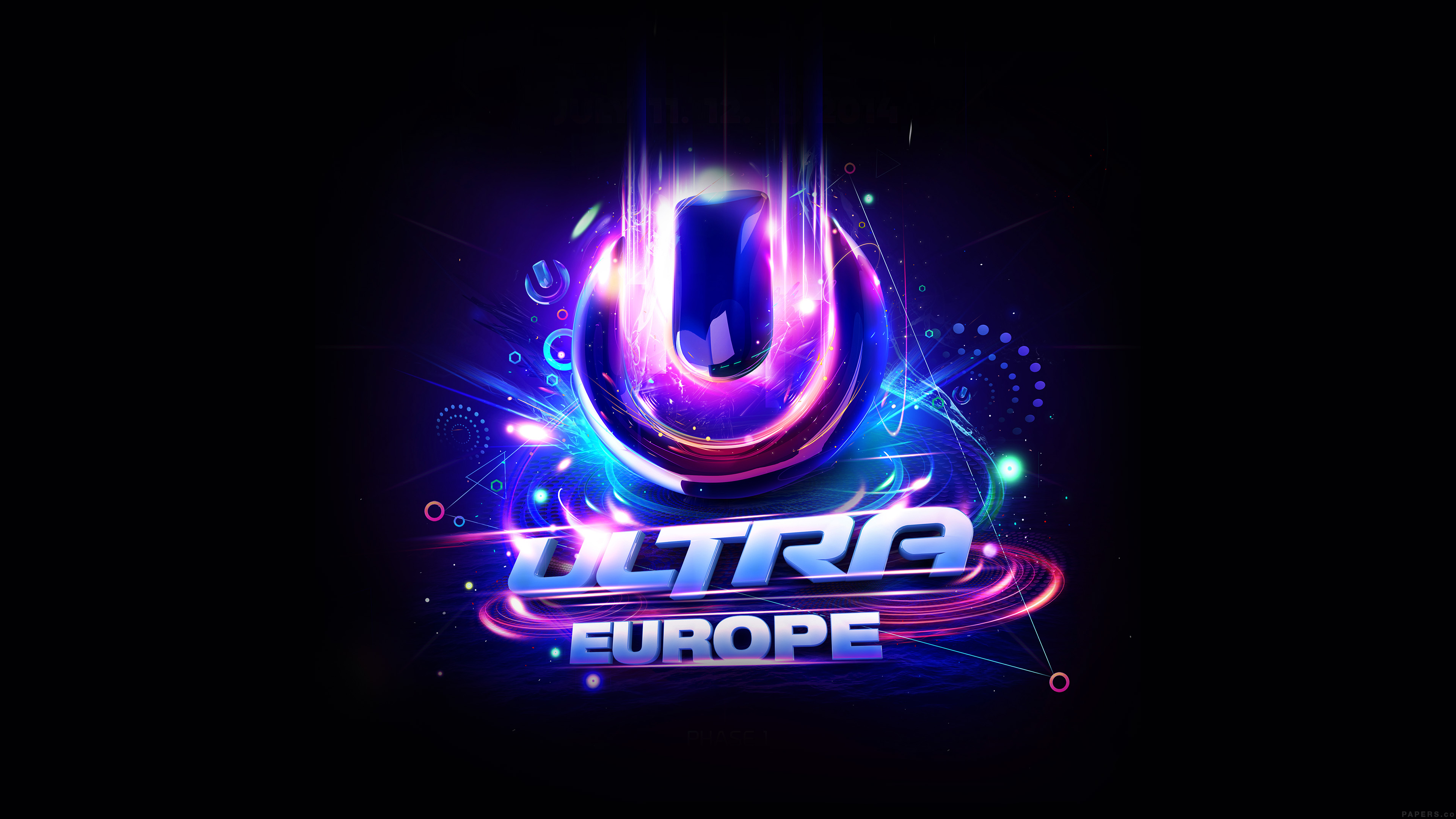 Al72 Ultra Europe Art Poster Music Party