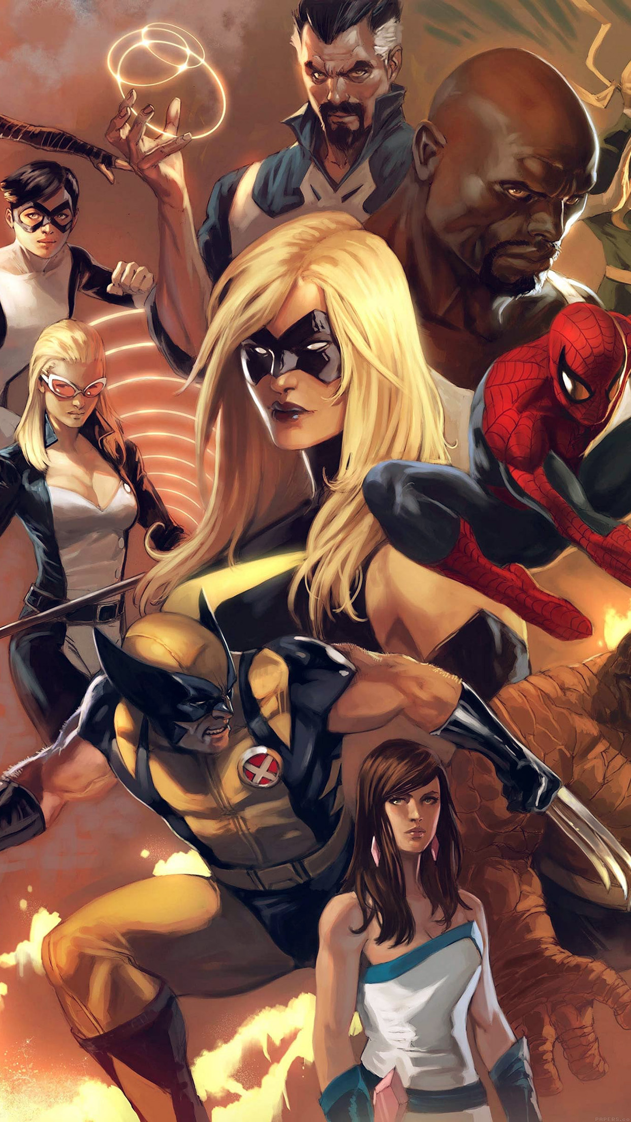 Iphone7papers Com Iphone7 Wallpaper Al80 Avengers Liiust Comics