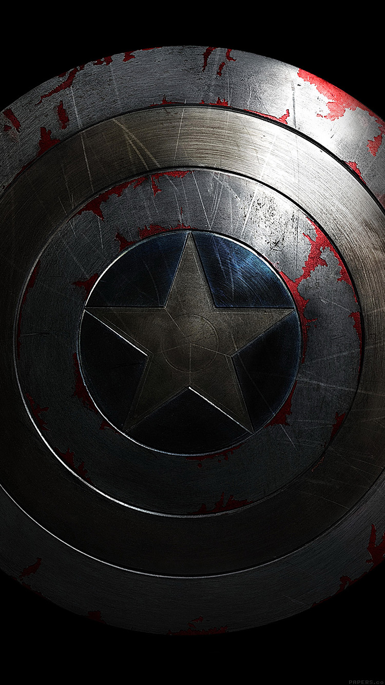 Papers.co-iPhone5-iphone6-plus-wallpaper-al84-captain-america-avengers-hero-sheild-art-dark