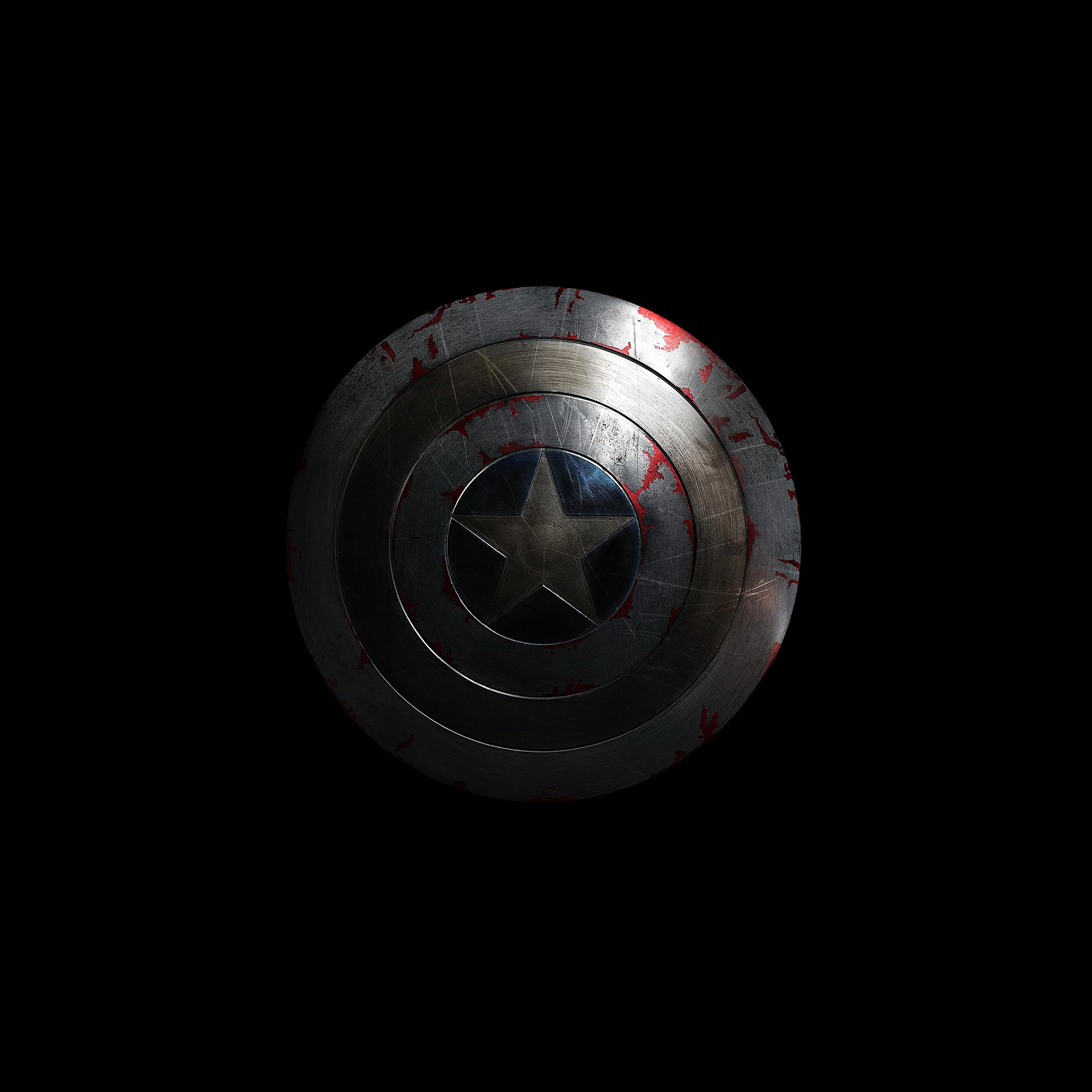 Wallpaper Iphone Superhero: Al85-captain-america-avengers-hero-sheild-small-dark-wallpaper