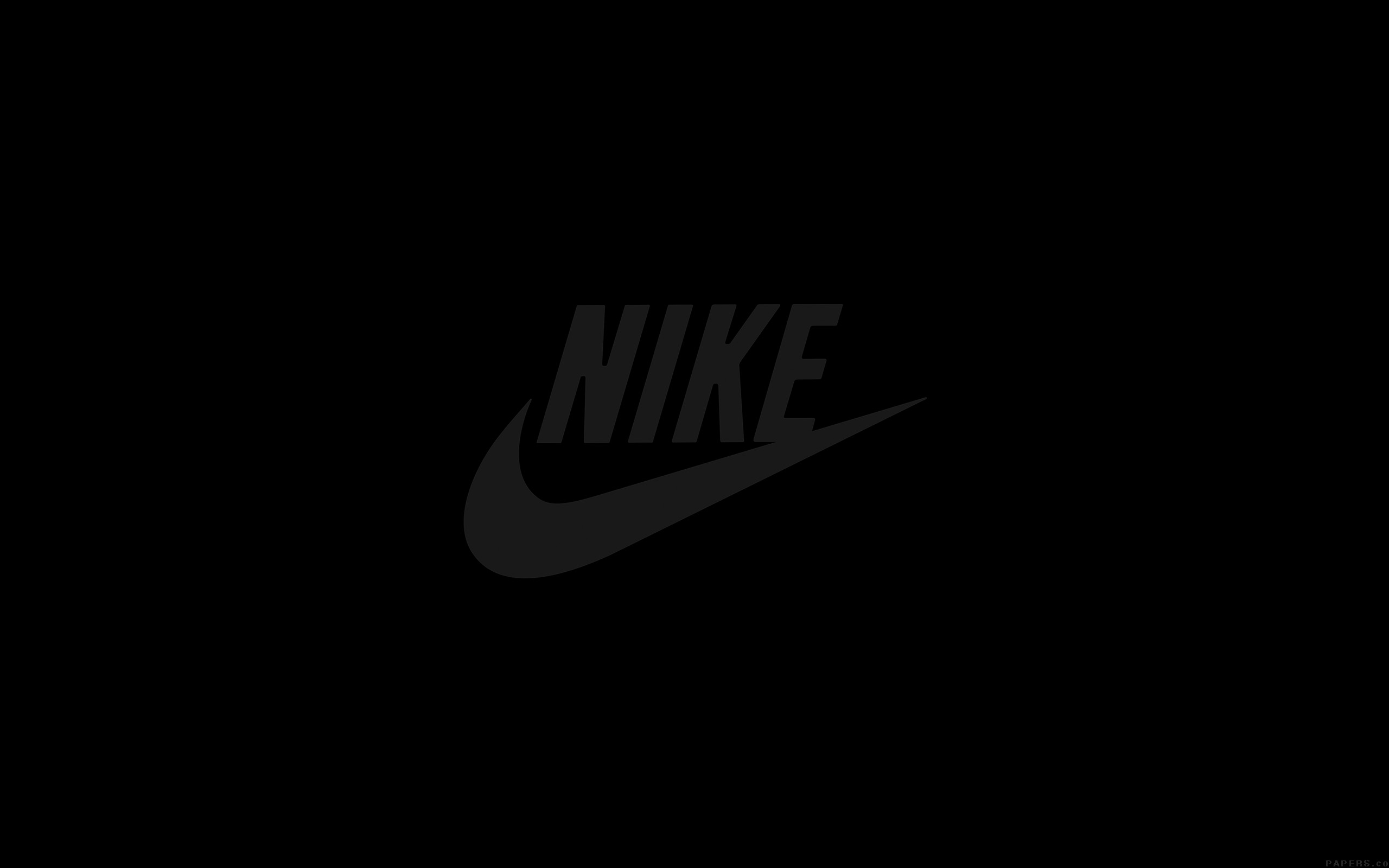 Al86 nike logo sports art minimal simple dark for Minimal art logo