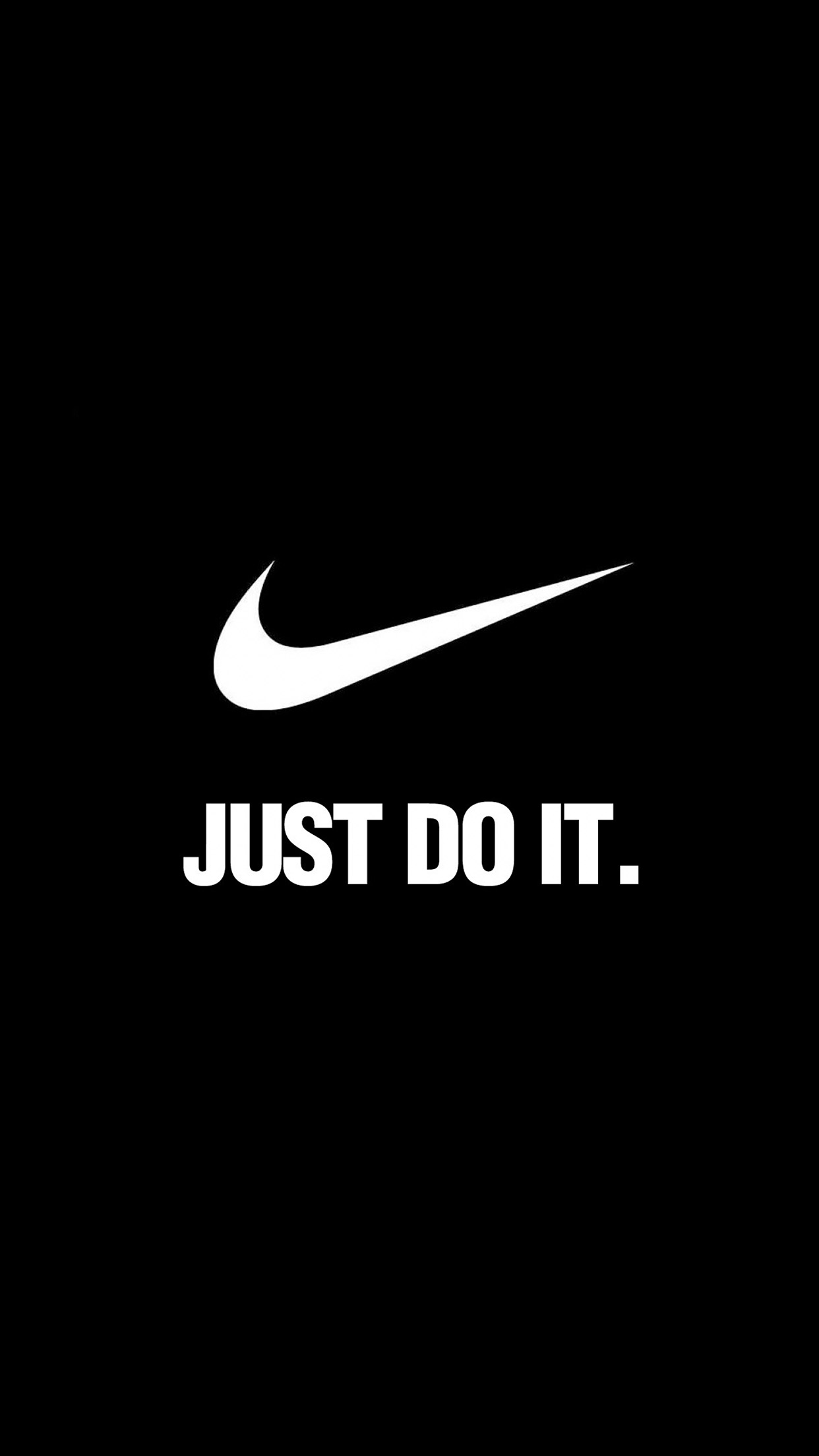 Iphone7papers Al90 Nike Just Do It Dark Simple Minimal Logo Art