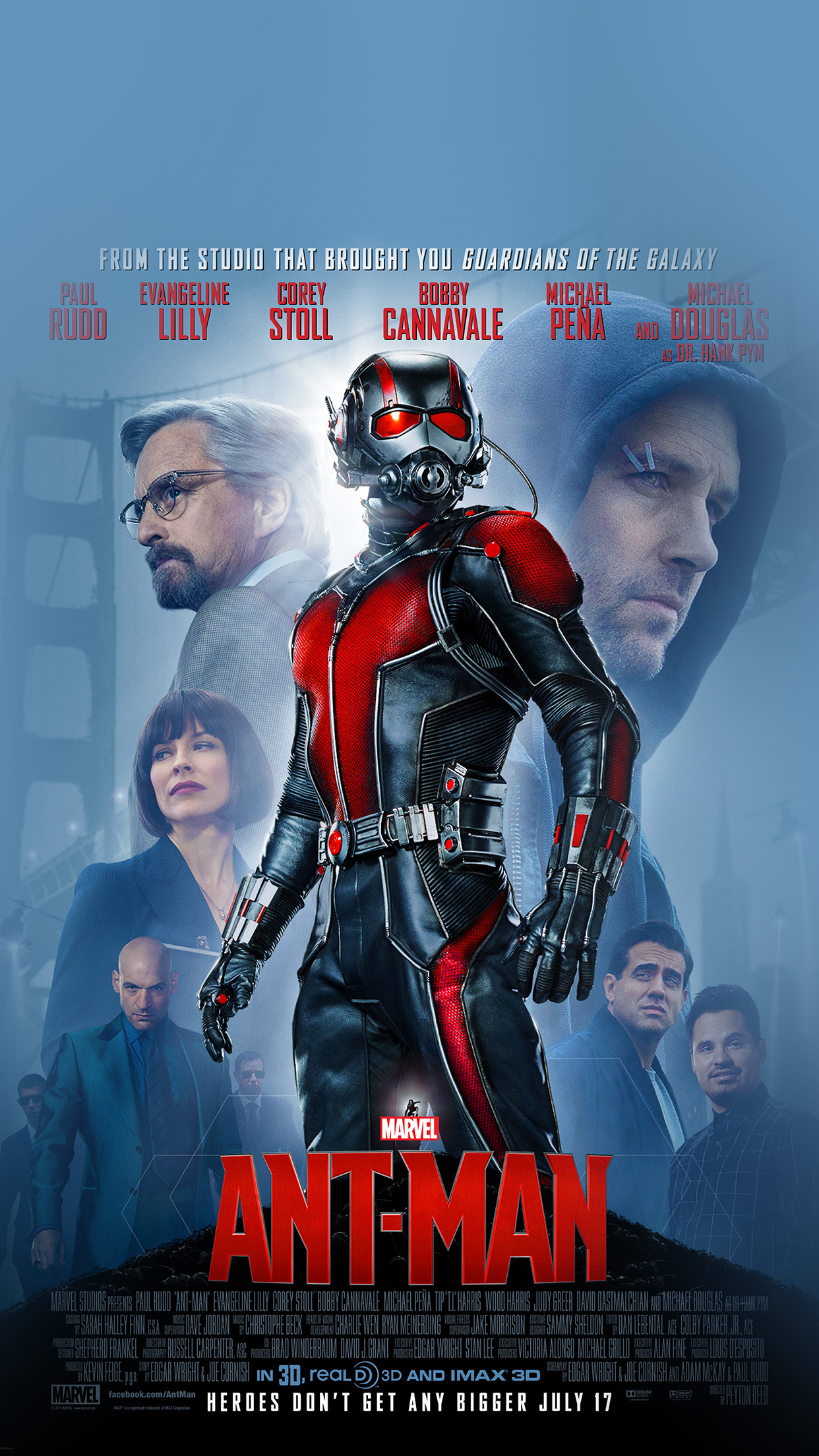 Al91 marvel antman poster hero art illust film Papersco