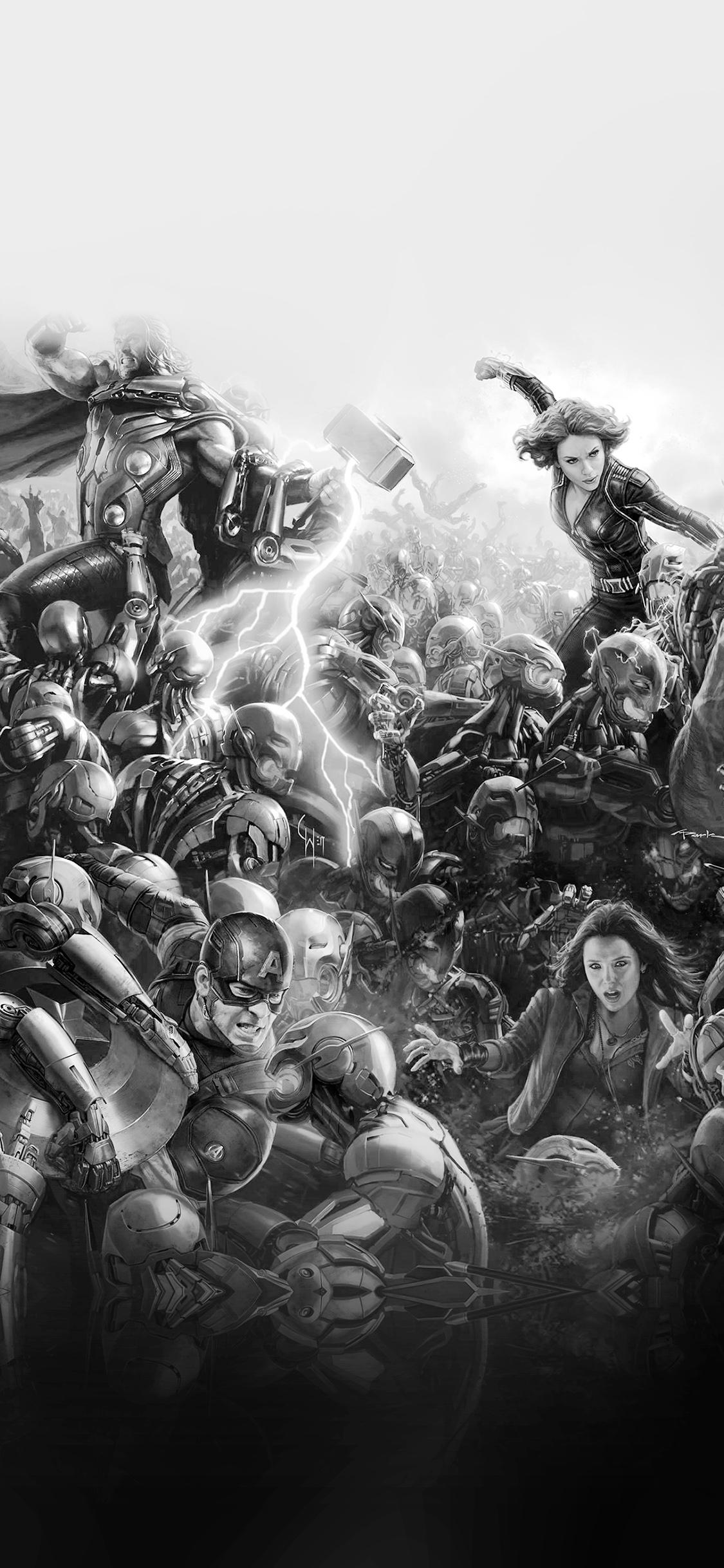 iPhoneXpapers.com-Apple-iPhone-wallpaper-al95-avengers-marvel-hero-ultron-flare-art-fight-dark