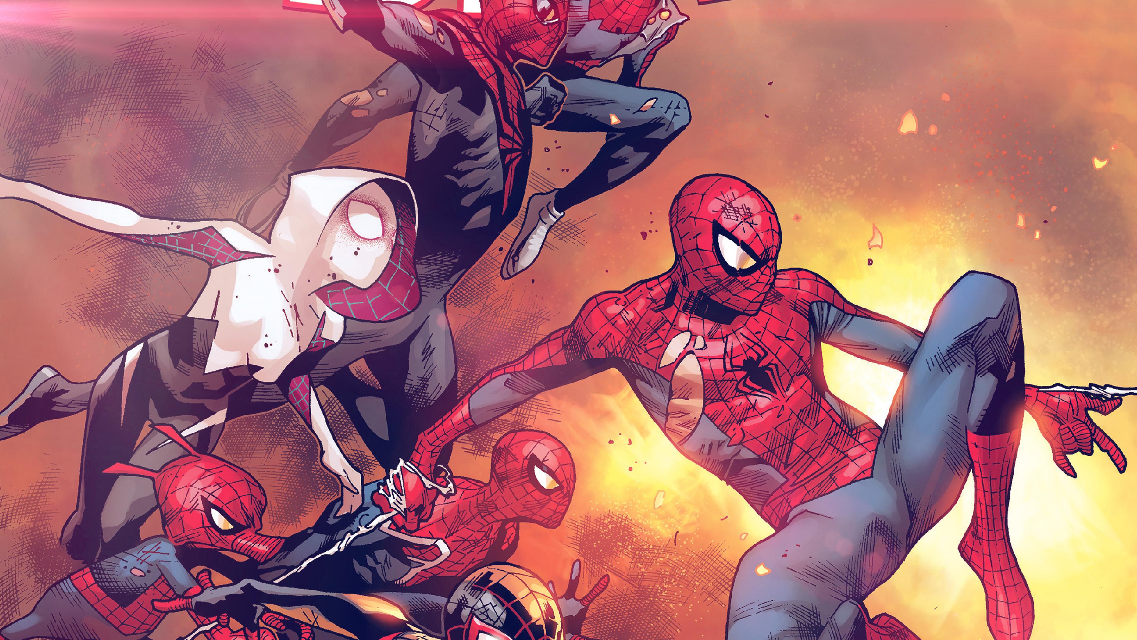 Al98 Amazing Spiderman Marvel Art Hero Film Anime Flare