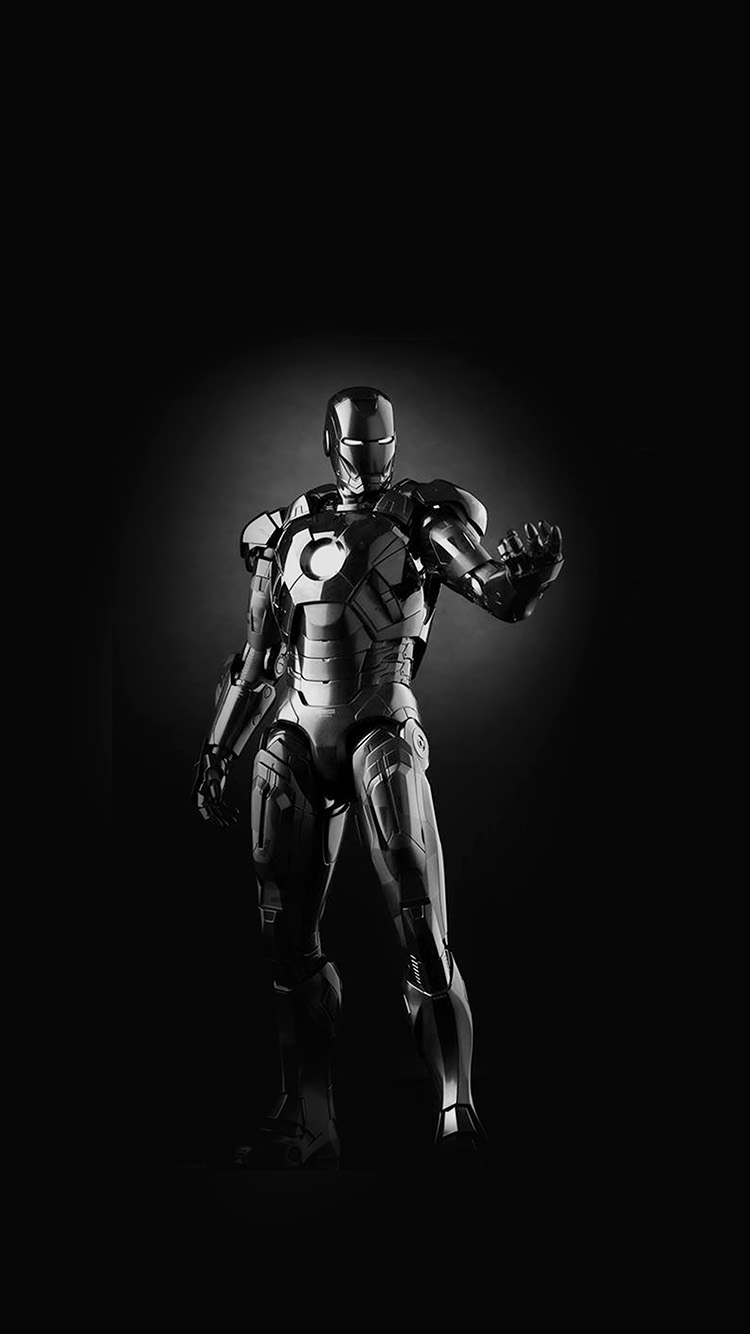 iPhone7papers.com-Apple-iPhone7-iphone7plus-wallpaper-am00-ironman-dark-figure-hero-art-avengers-bw