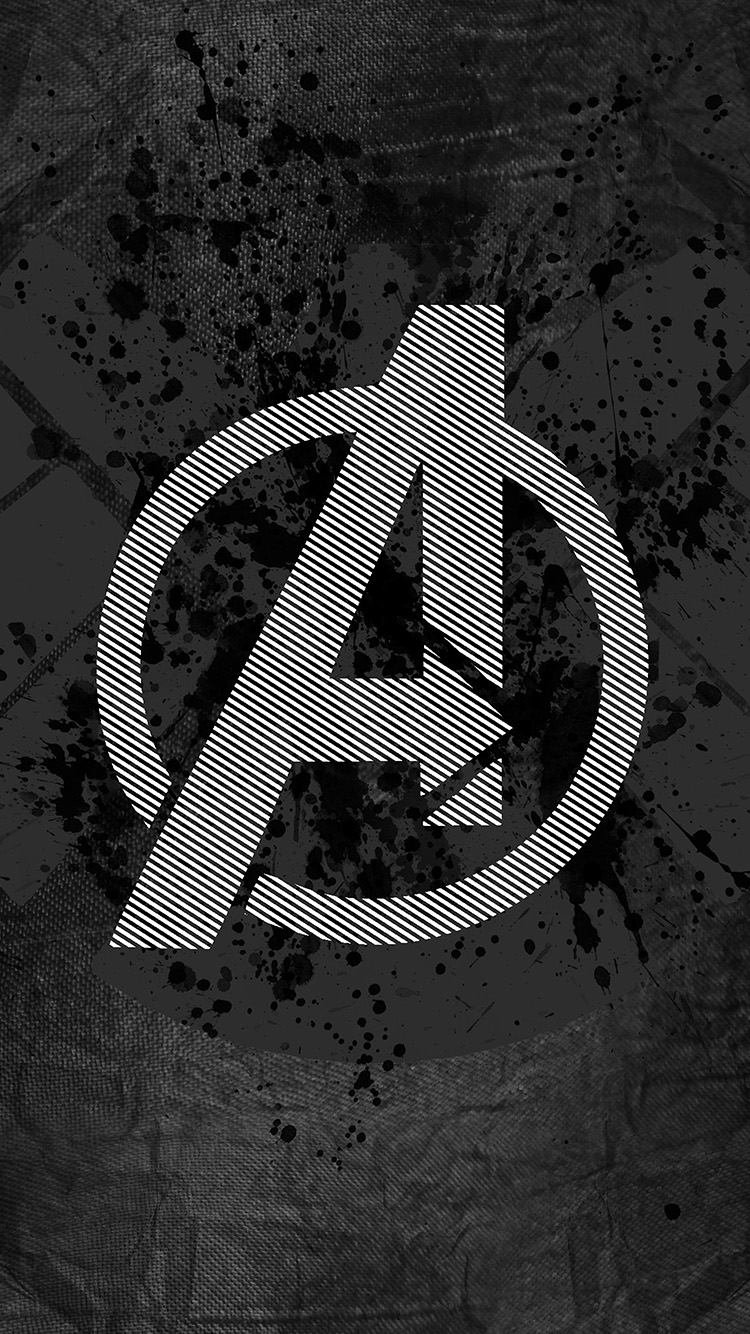 Papers.co-iPhone5-iphone6-plus-wallpaper-am03-avengers-logo-art-hero-dark