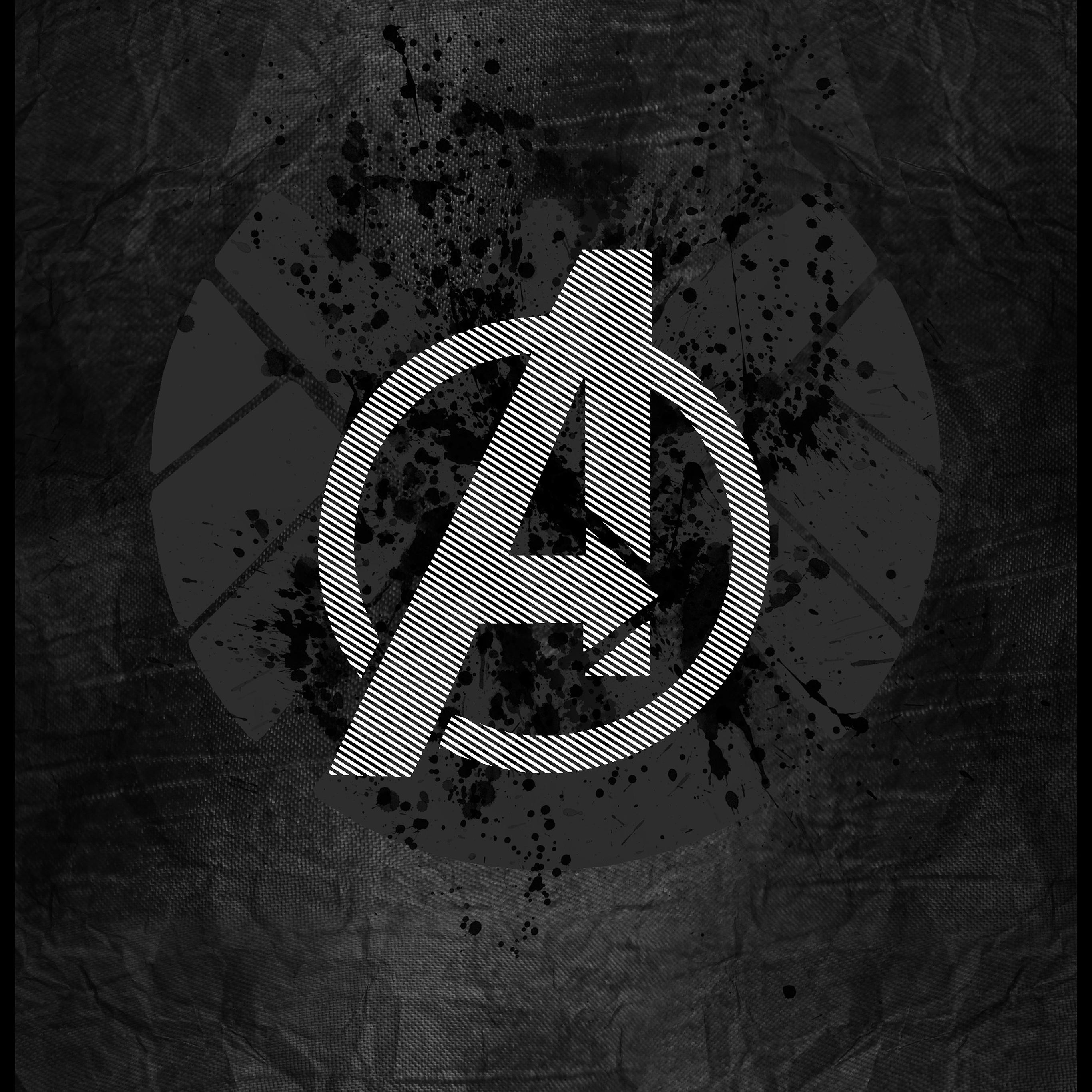 Ipad retina - Avengers symbol wallpaper ...