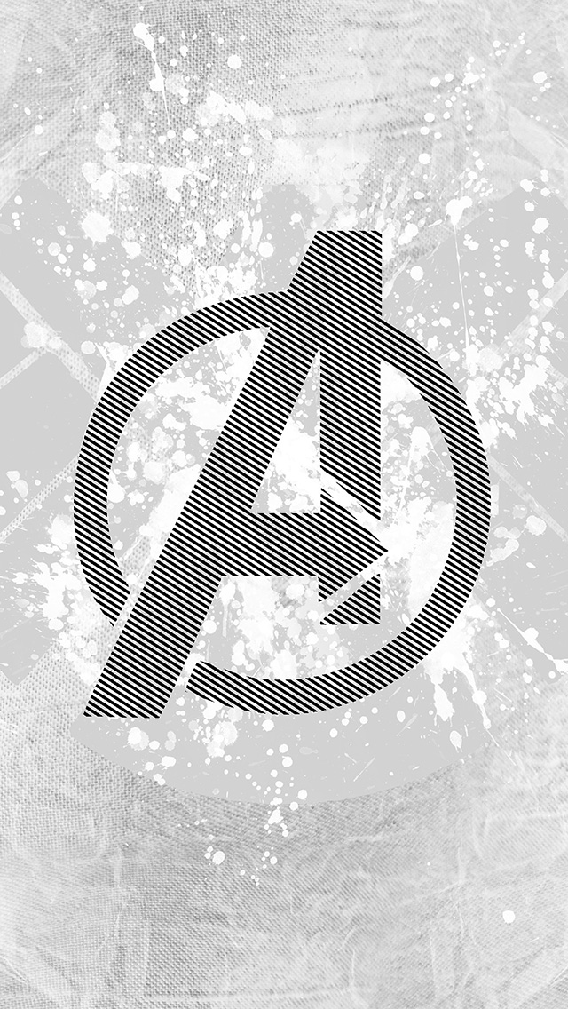 freeios8.com-iphone-4-5-6-plus-ipad-ios8-am04-avengers-logo-art-hero-white