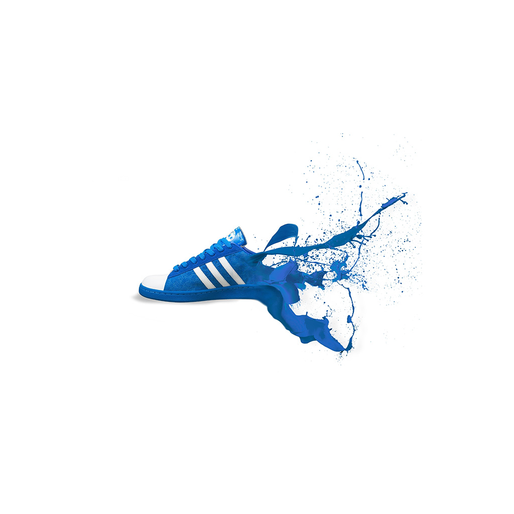 android-wallpaper-am05-adidas-blue-shoes-sneakers-logo-art-wallpaper